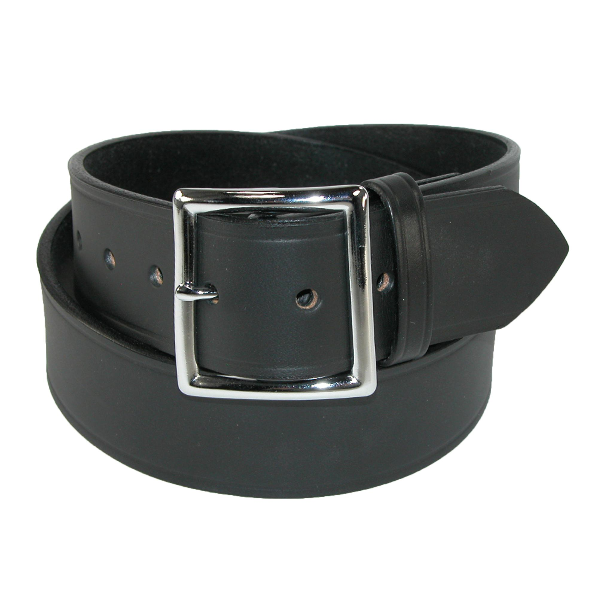 Boston Leather Men's Leather 1 3/4 Inch Garrison Belt