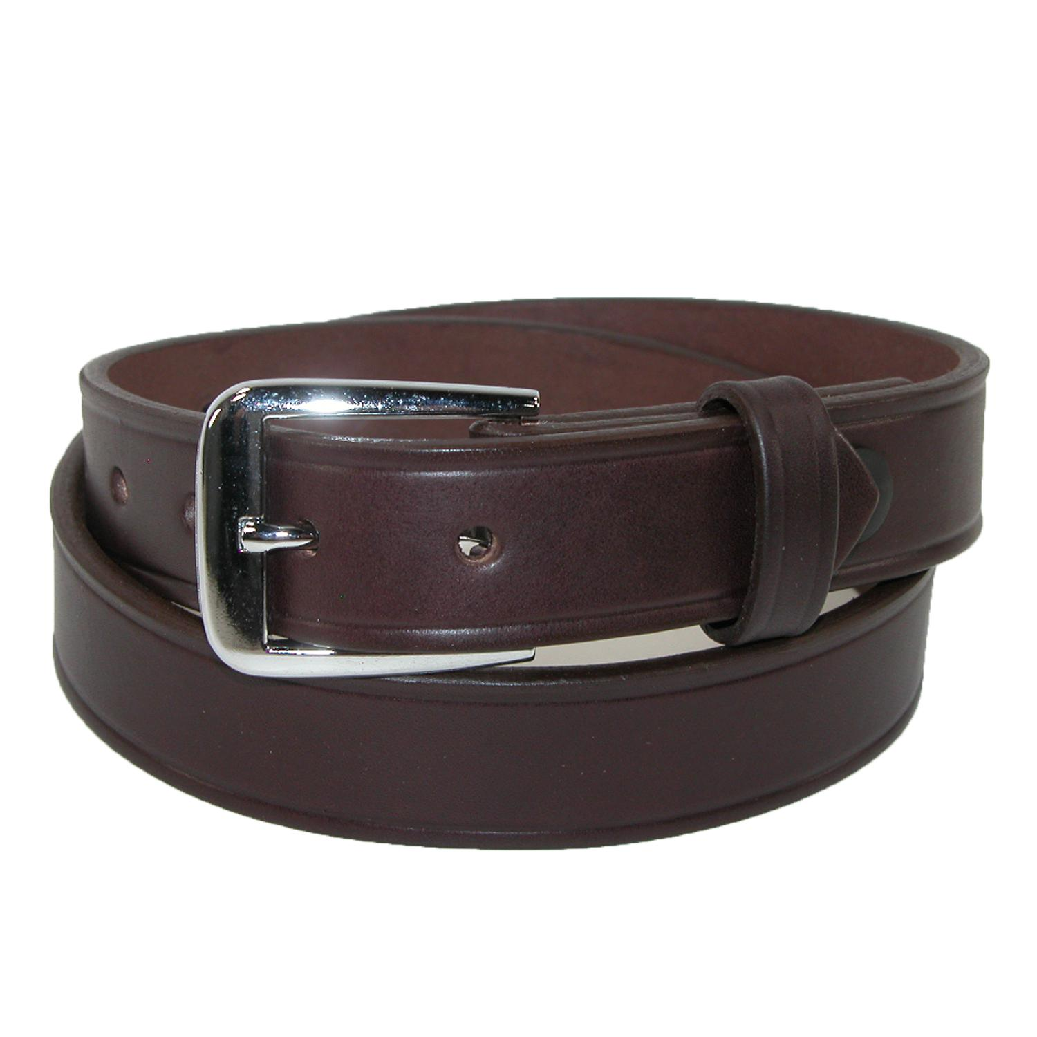 Boston Leather Men's Big & Tall Leather 1 1/4 Inch Sports Officials Belt