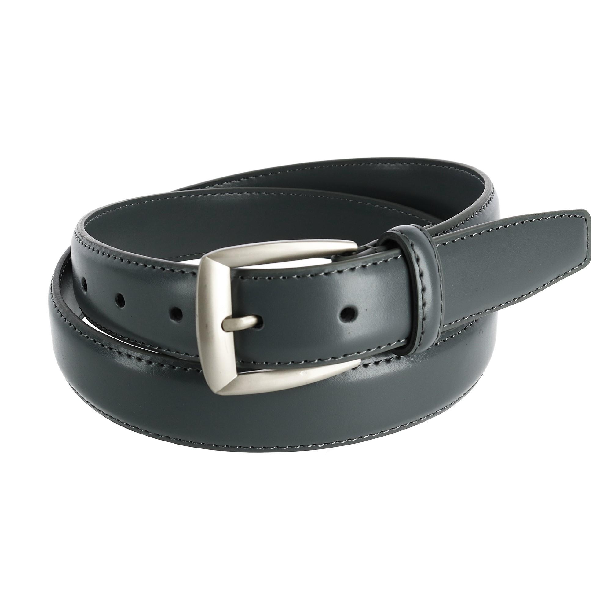 new ctm s leather 1 1 4 inch basic dress belt ebay
