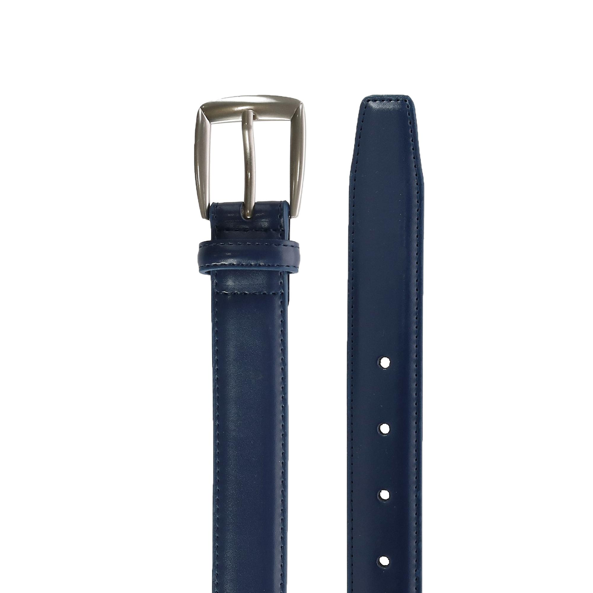 New CTM Men/'s Leather 28mm Basic Dress Belt