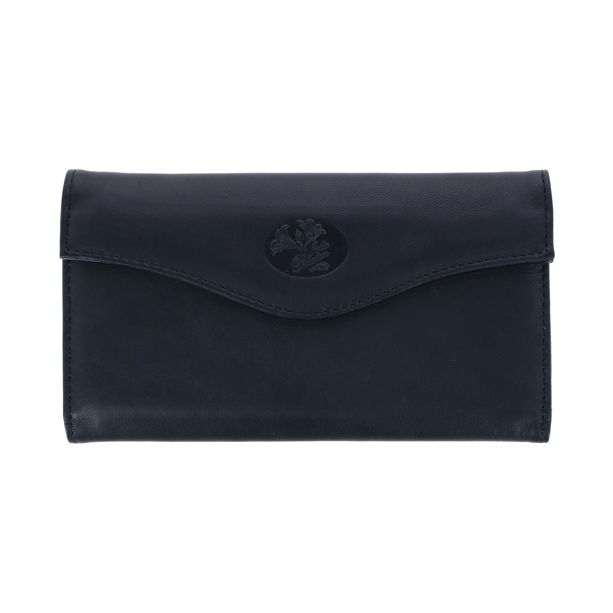 New Buxton Womens Leather Long Bifold Organizer Wallet ...