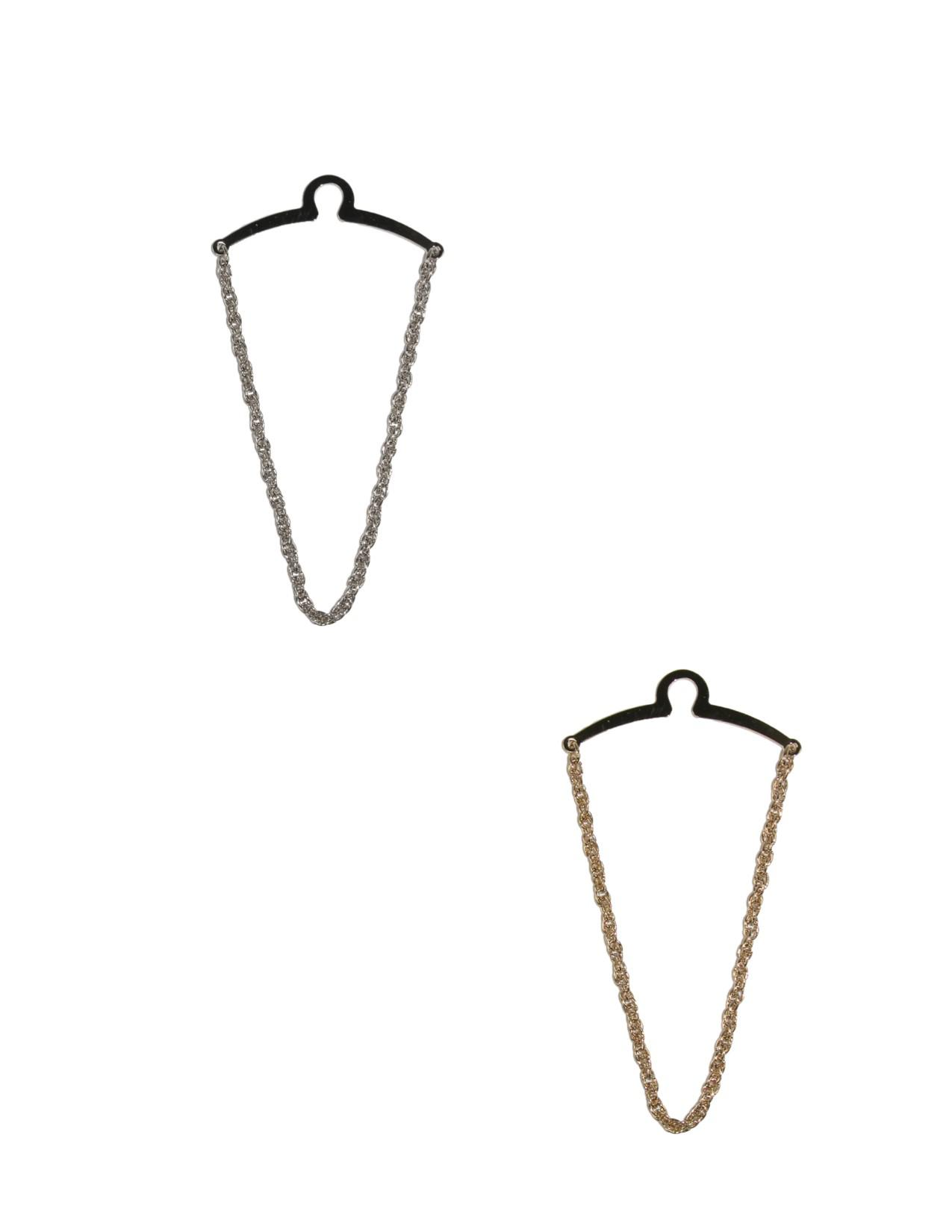 Competition Inc. Mens Rope Style Tie Chains (pack Of 2)
