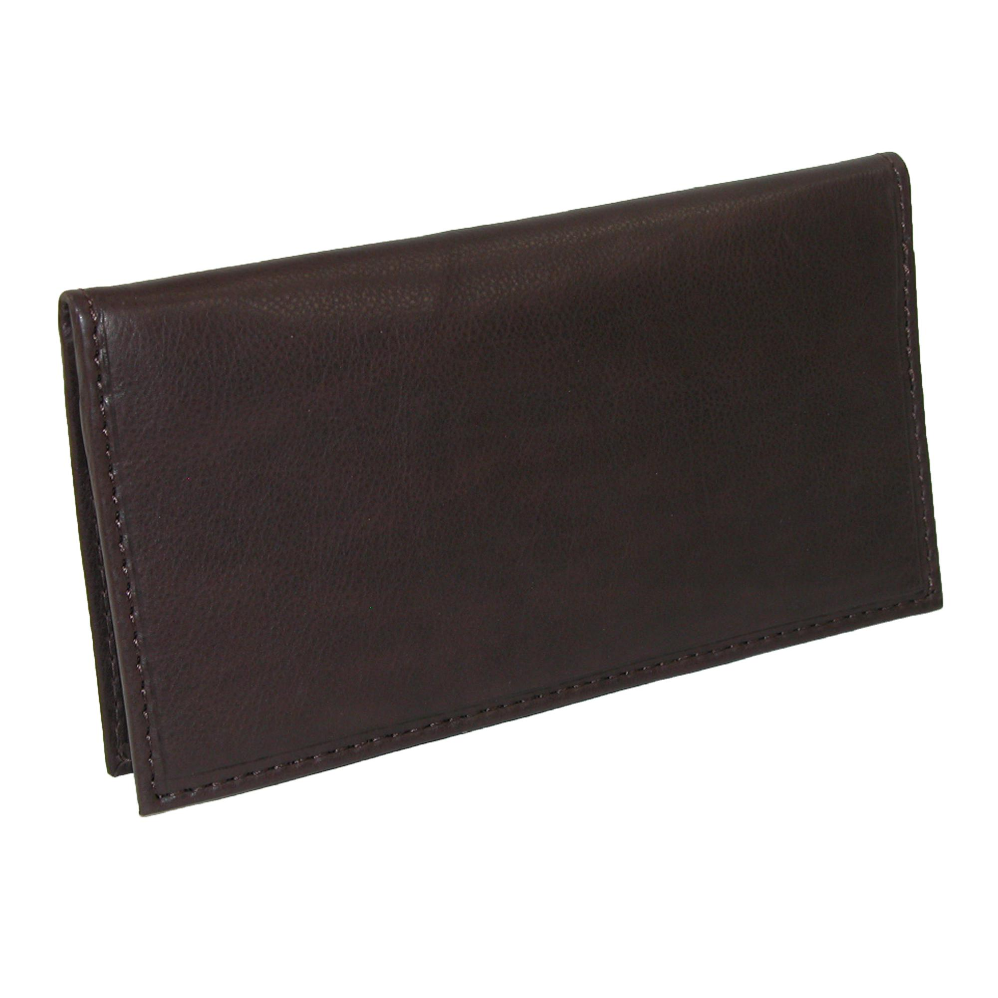 Business Cheque Book Covers ~ New paul taylor leather card holder and checkbook cover