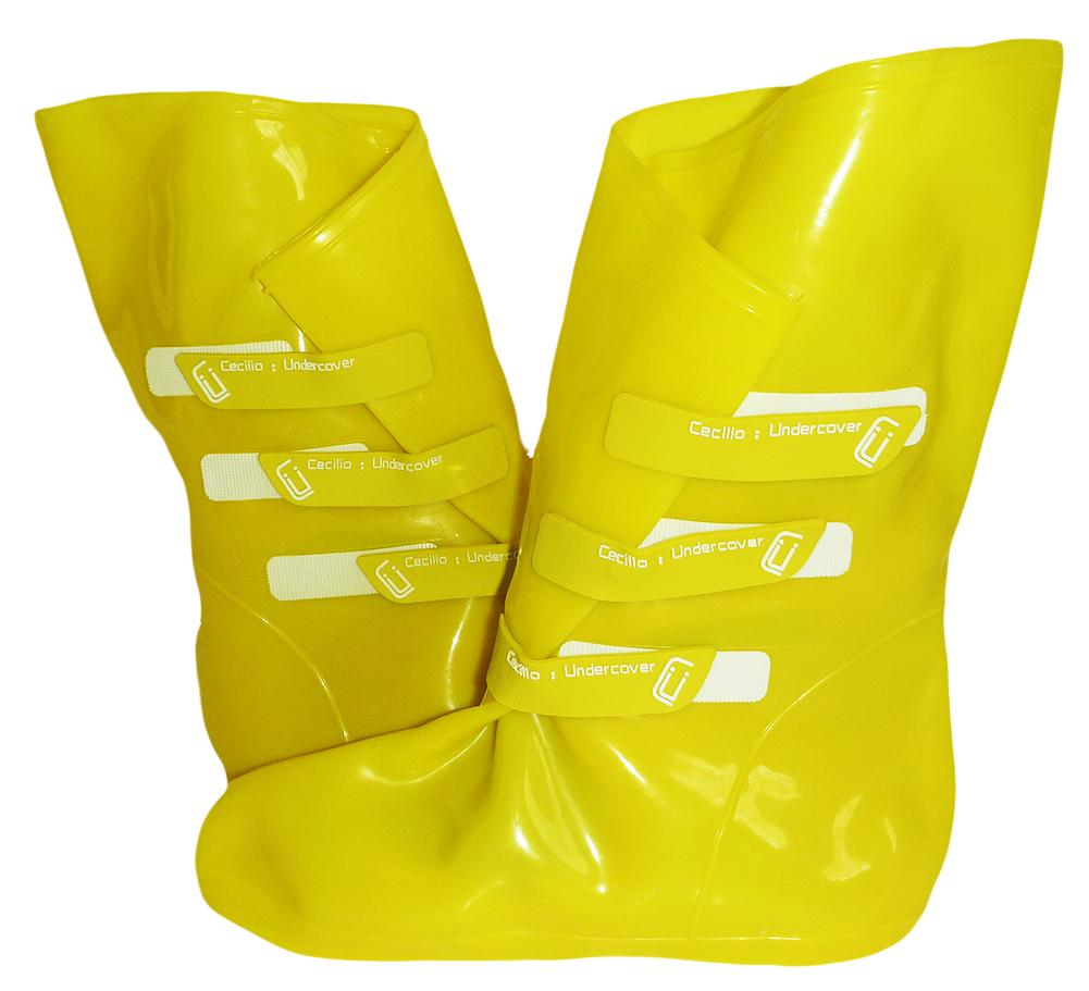 Cecilia Undercover Womens Omgaloshes Rain Boot Shoe Covers