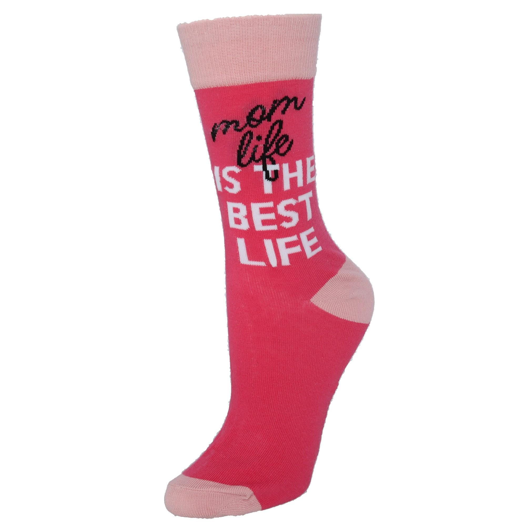 New Two Left Feet Women/'s Mom Socks