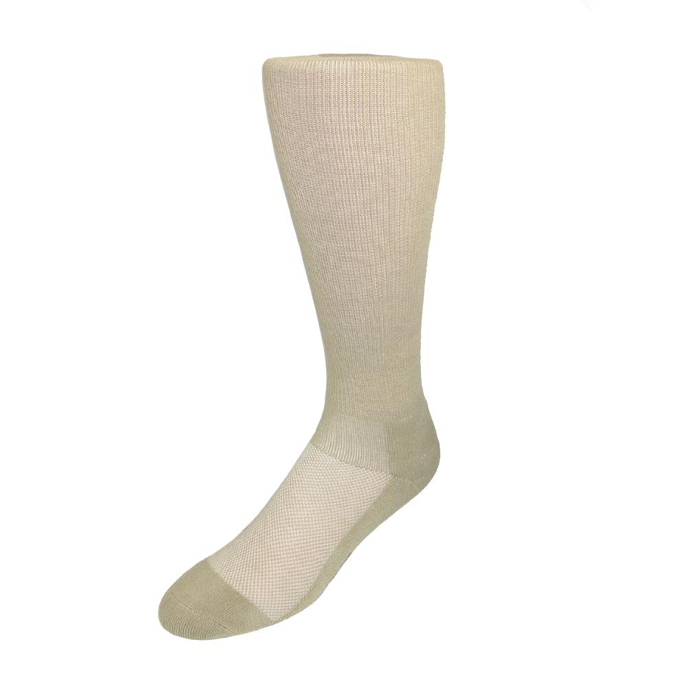 Windsor Collection Womens Coolmax Cotton Support Compression Walking Socks
