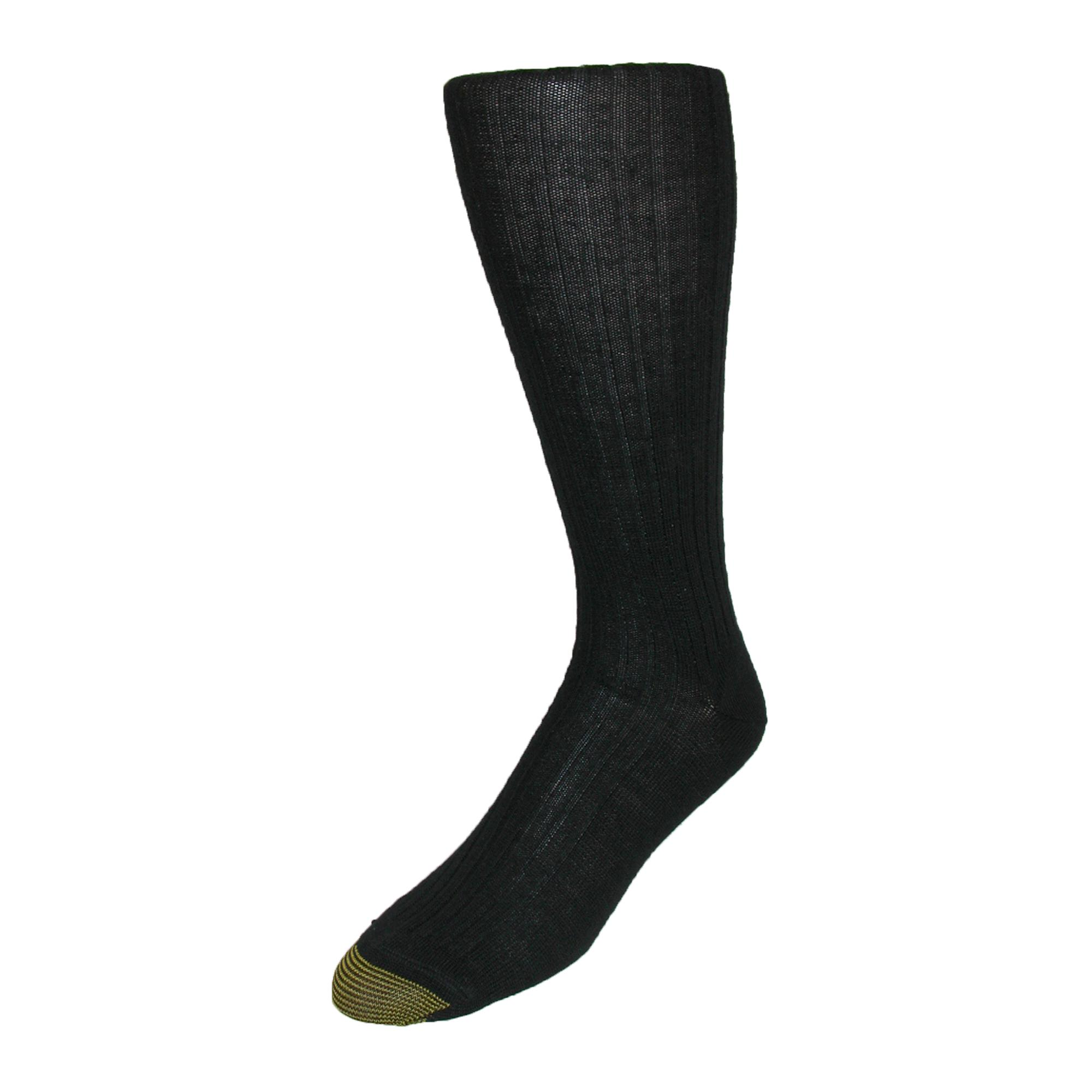 Gold Toe Mens Windsor Wool Over The Calf Socks (pack Of 3)