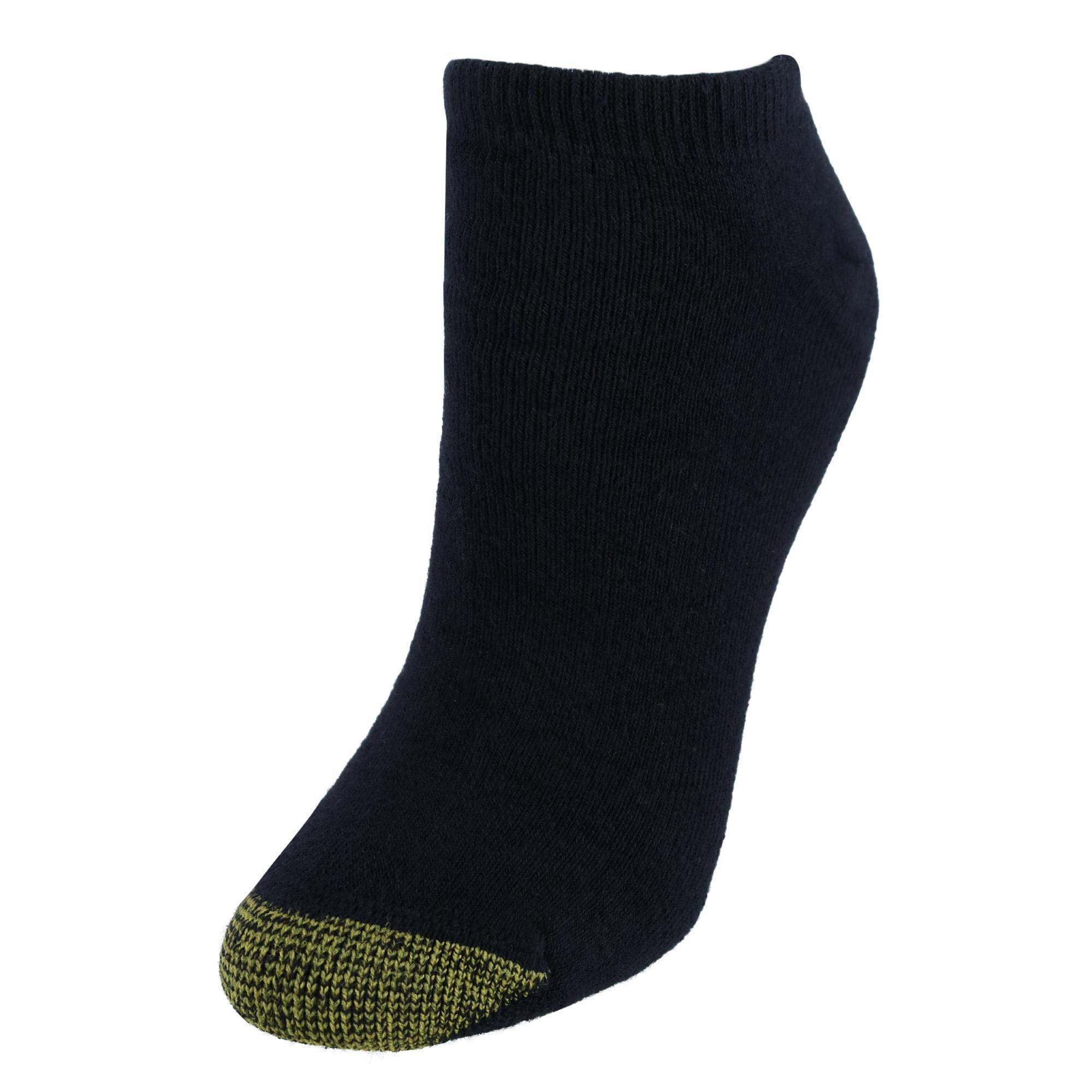 Gold Toe Womens Cotton No Show Liner Socks (pack Of 6)