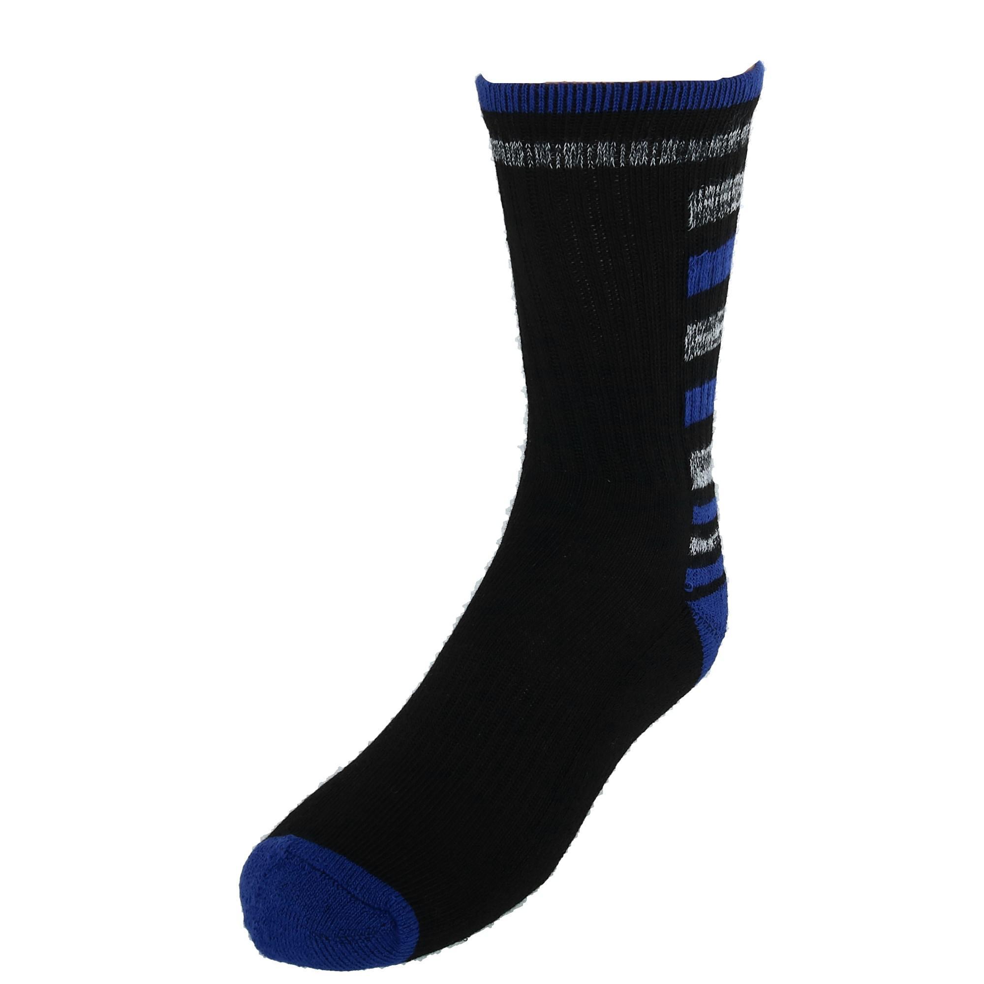 4 Pair Pack New Densley /& Co Boys Athletic Crew Socks