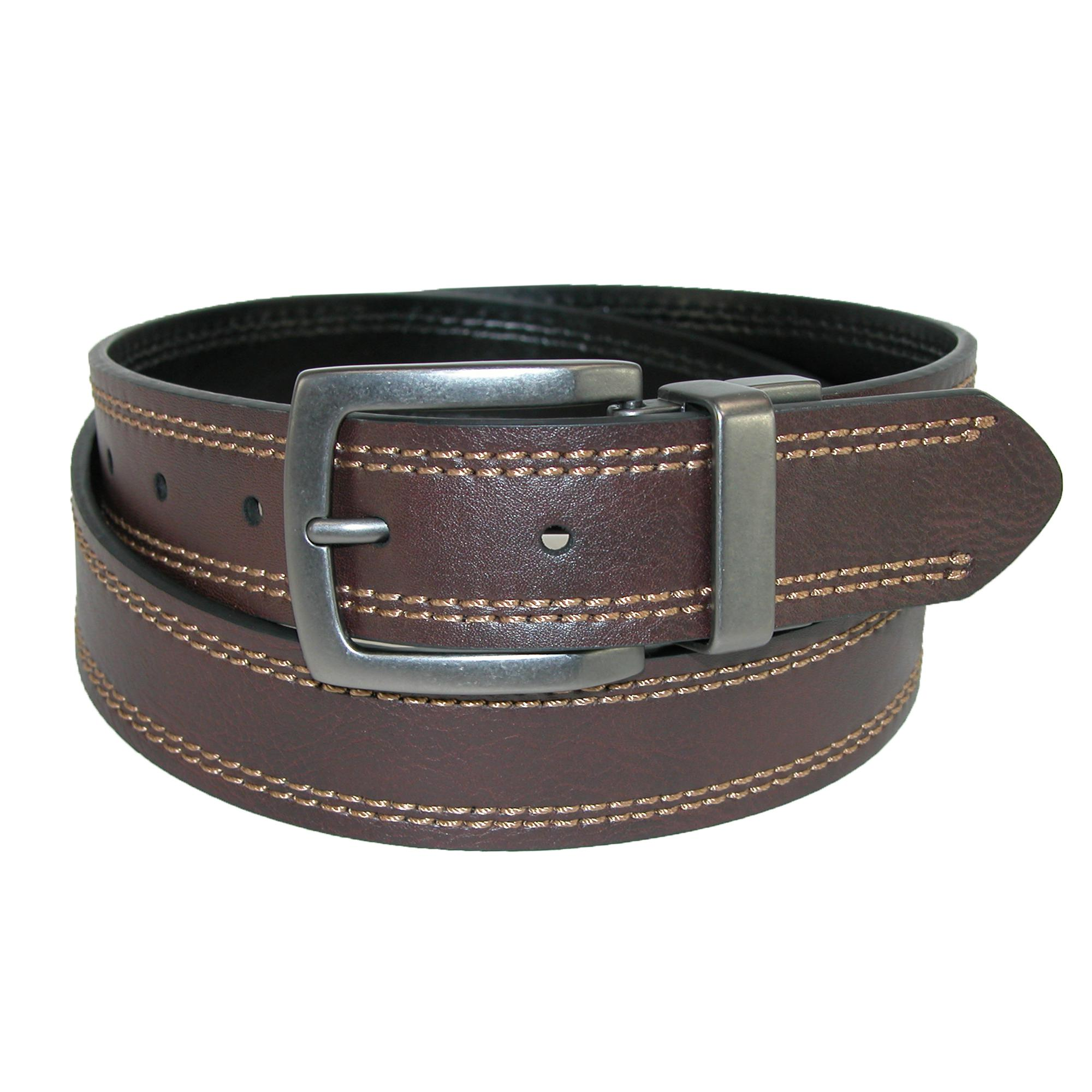 Dickies Mens 35mm Reversible Belt With Contrast Stitch