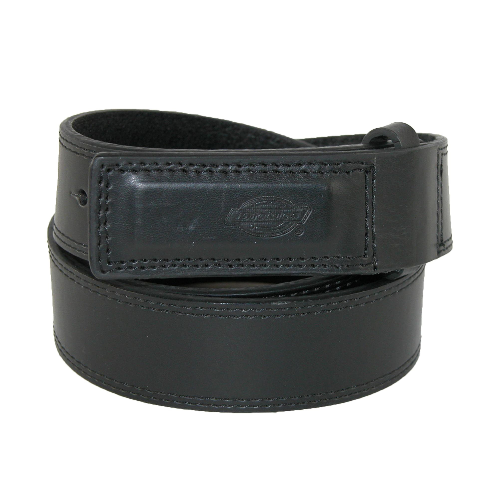 Dickies Mens Leather Covered Buckle Mechanics And Movers Belt