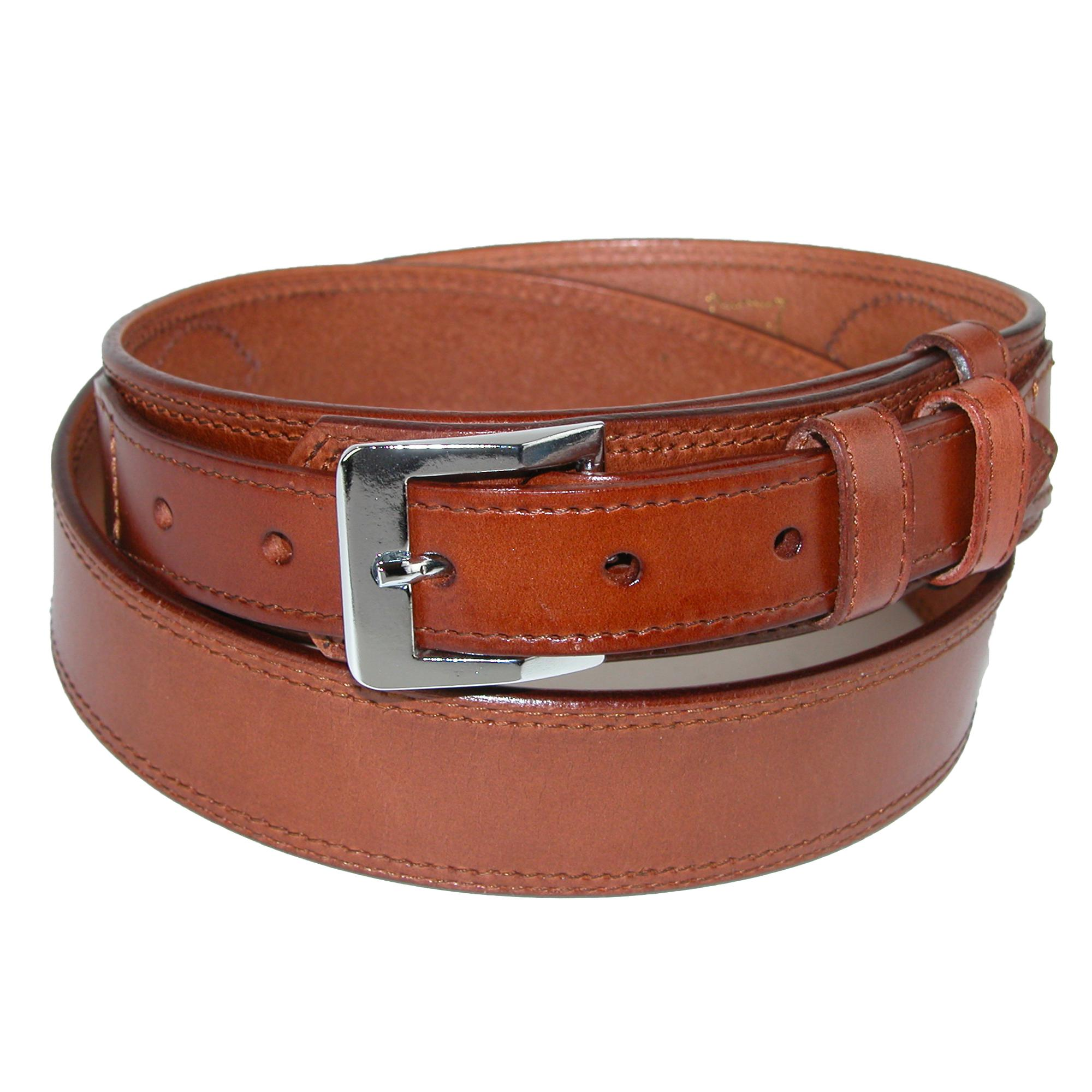 Ctm Mens Leather Removable Buckle Ranger Belt