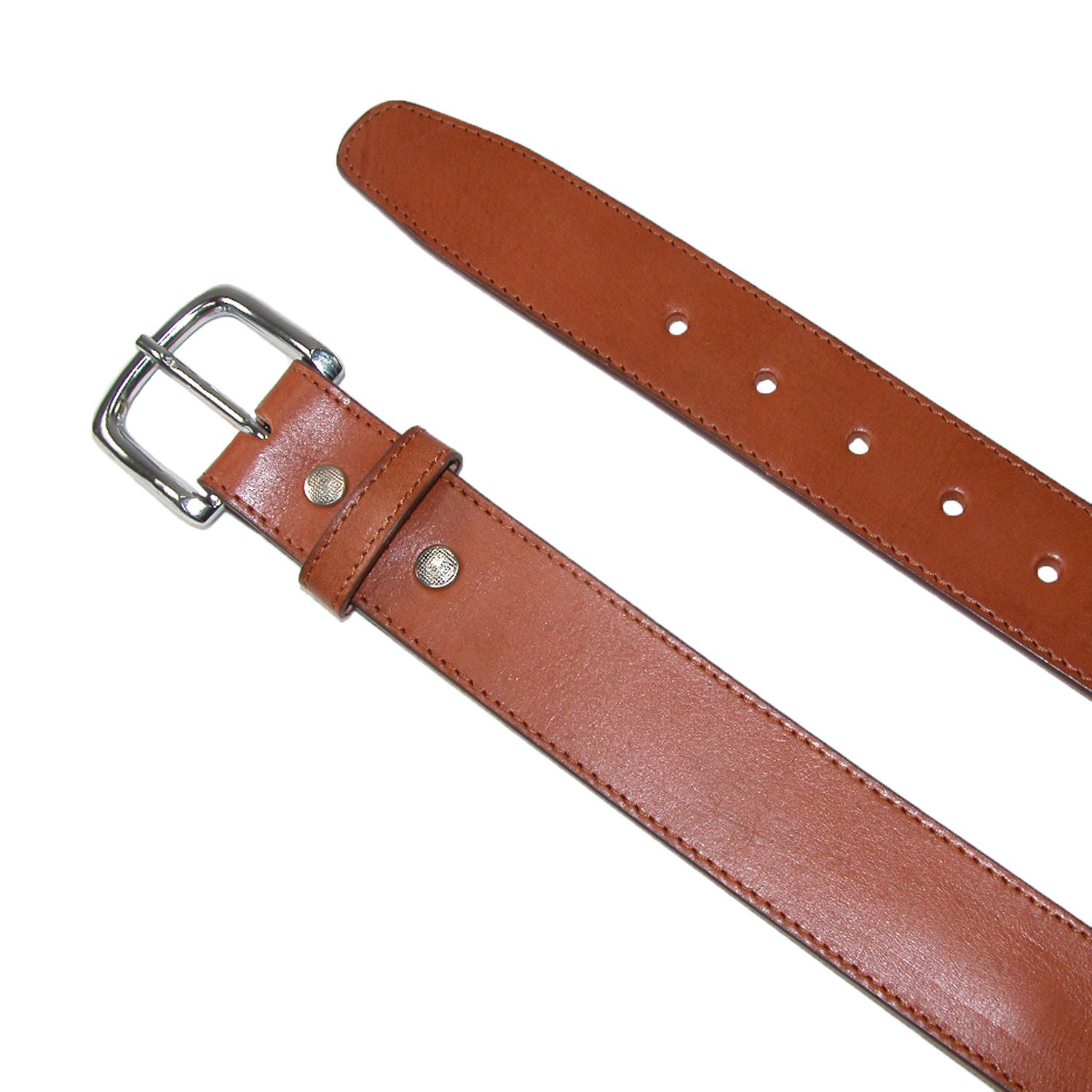 new ctm s leather money belt removable buckle ebay