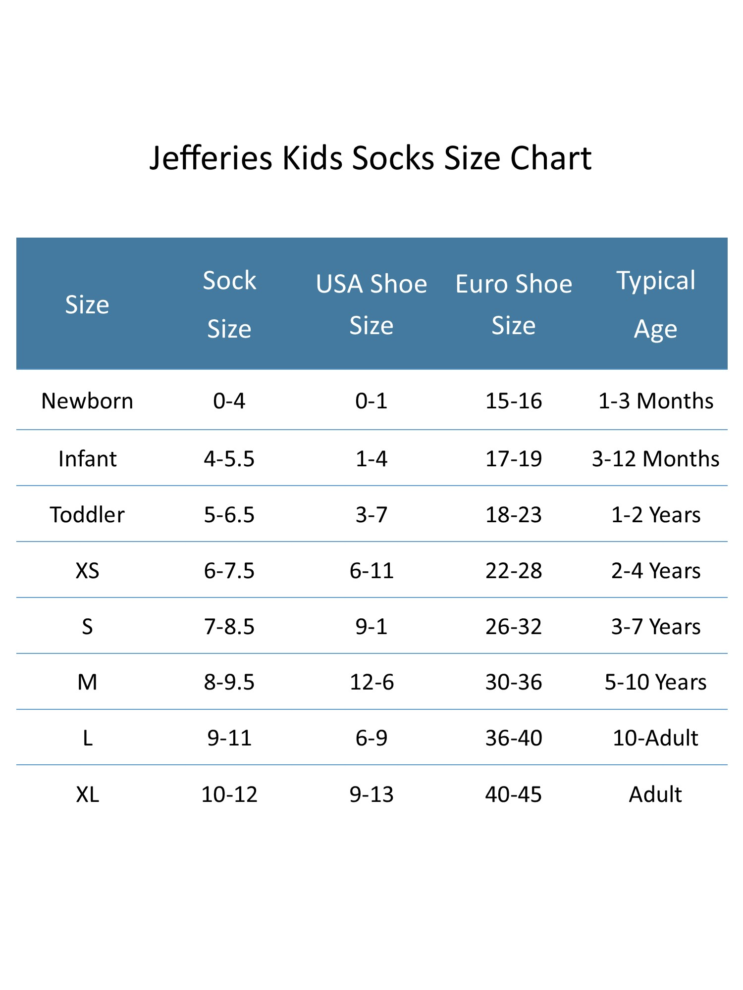 New Jefferies Socks Kids/' Cotton Ribbed Uniform Crew Socks
