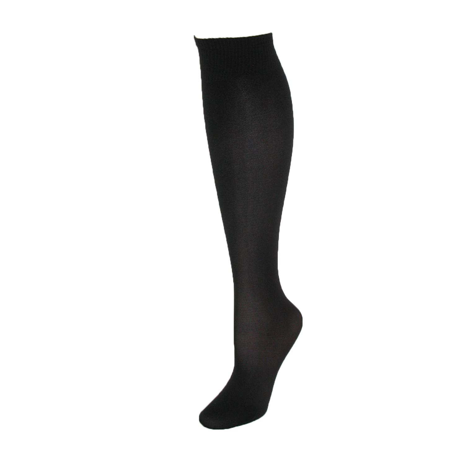 Jefferies Socks Womens Nylon Trouser Socks With Wide Top