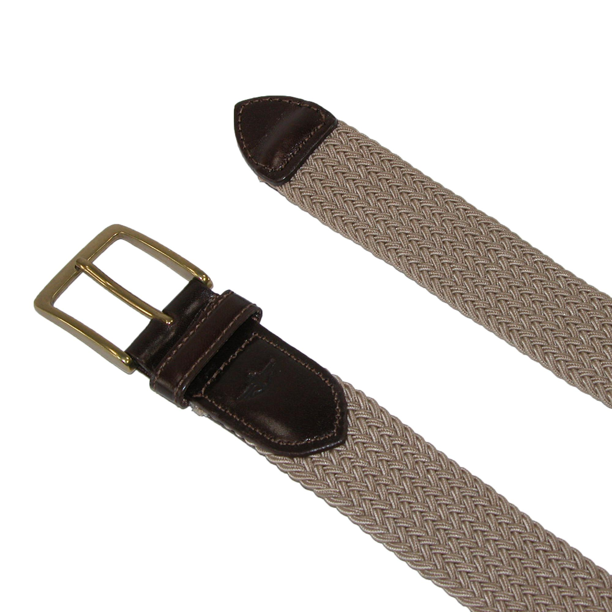 new dockers s elastic braided stretch belt with