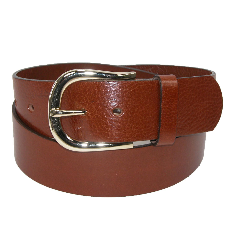Belt Shak Womens Italian Leather Bridle Belt