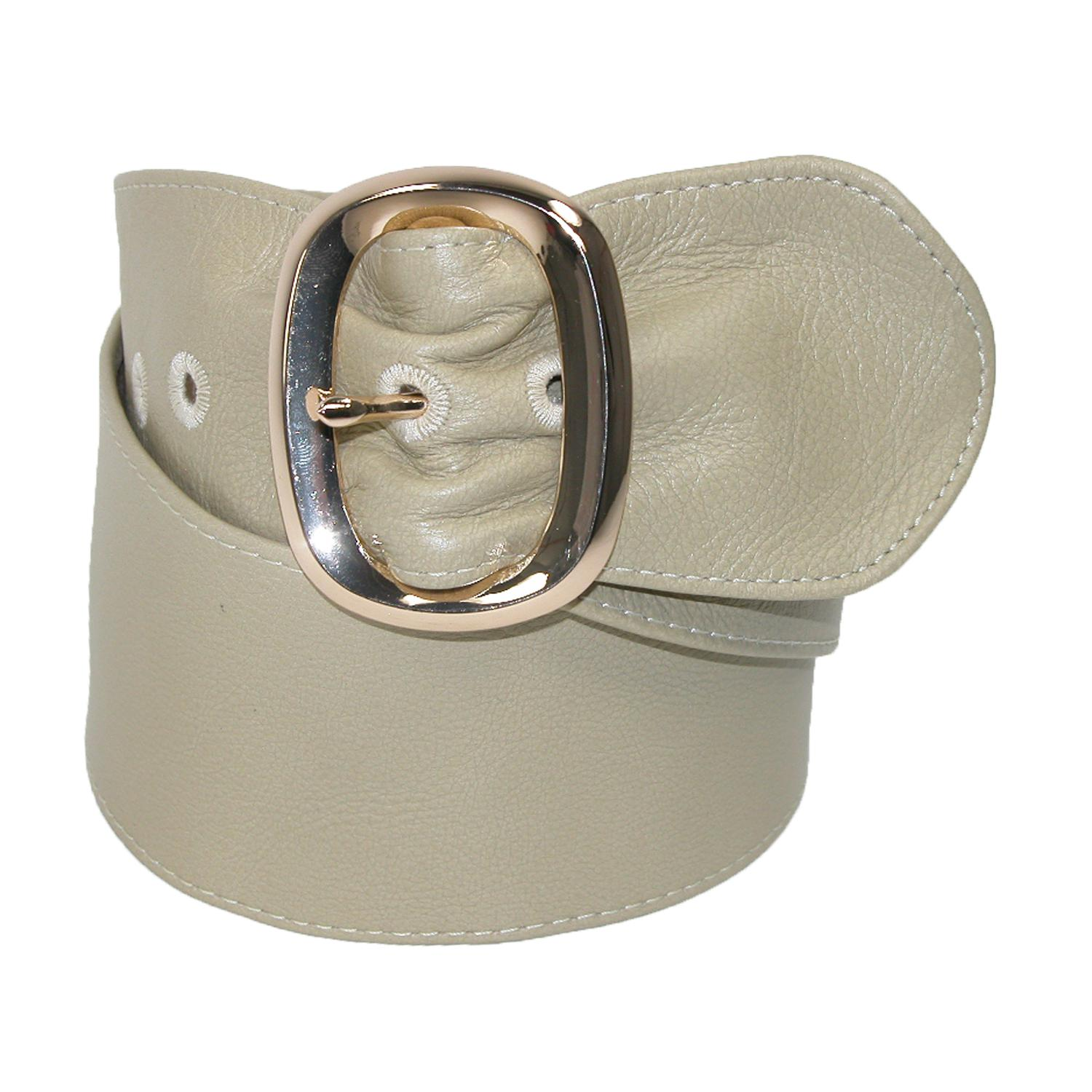 Landes Womens Italian Leather Sash Belt