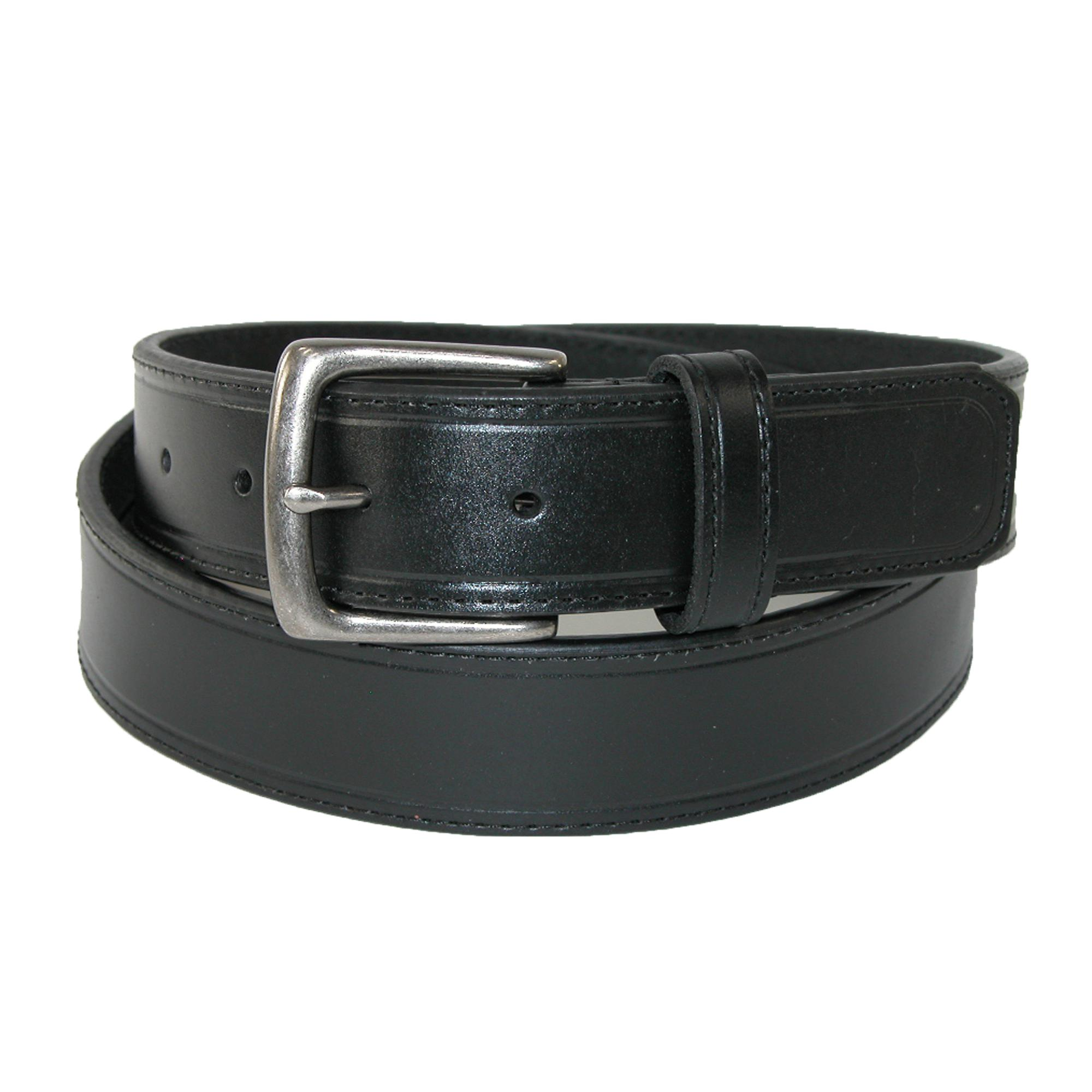Sharp Mens Leather 1 1/4 Inch Casual Security Money Belt
