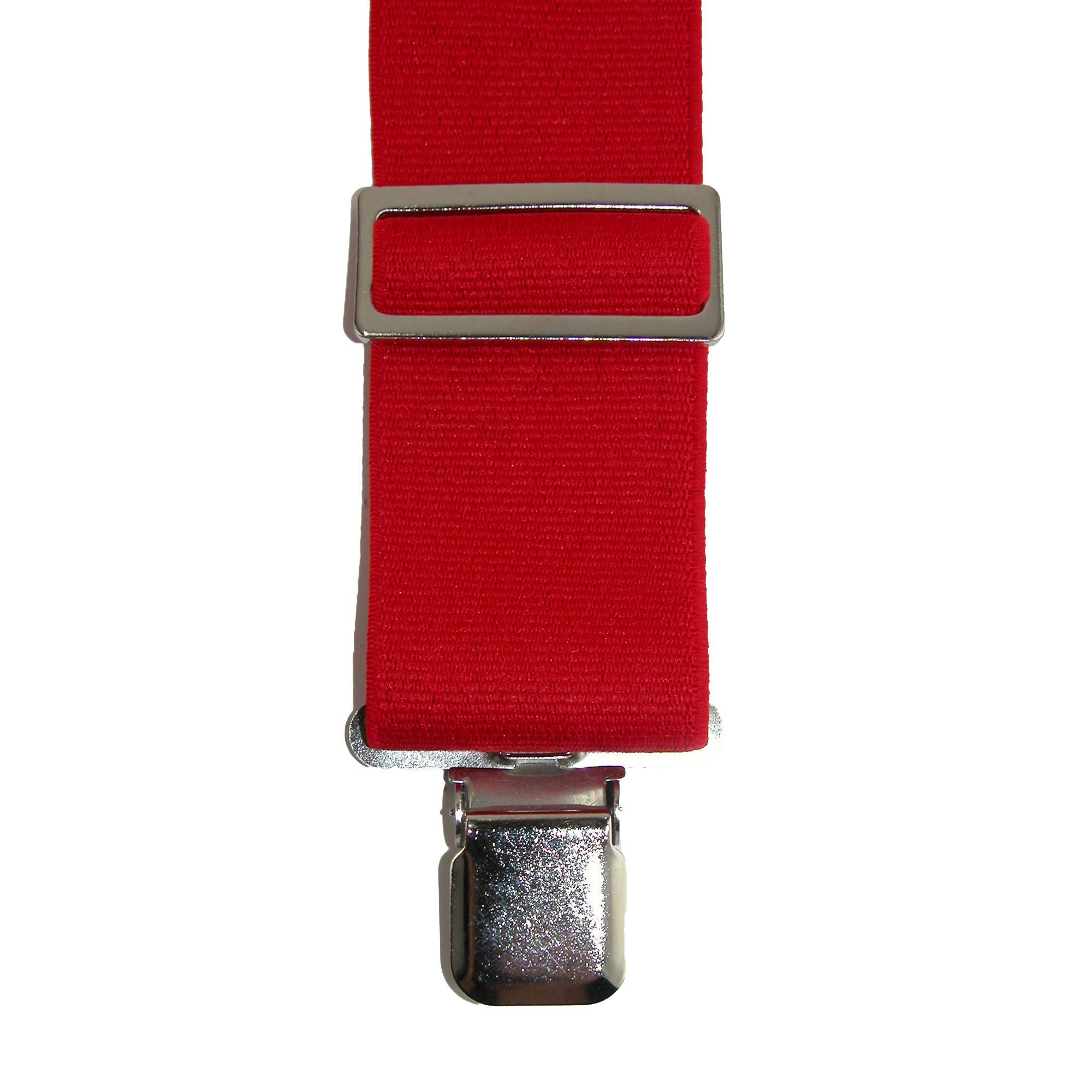 New CTM Men/'s Elastic Heavy Duty Basic Clip-End Work Suspender