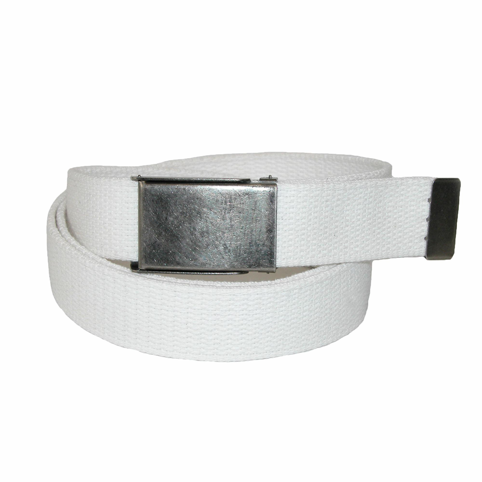 Ctm Mens Big & Tall Belt With Flip Top Nickel Buckle (pack Of 3)
