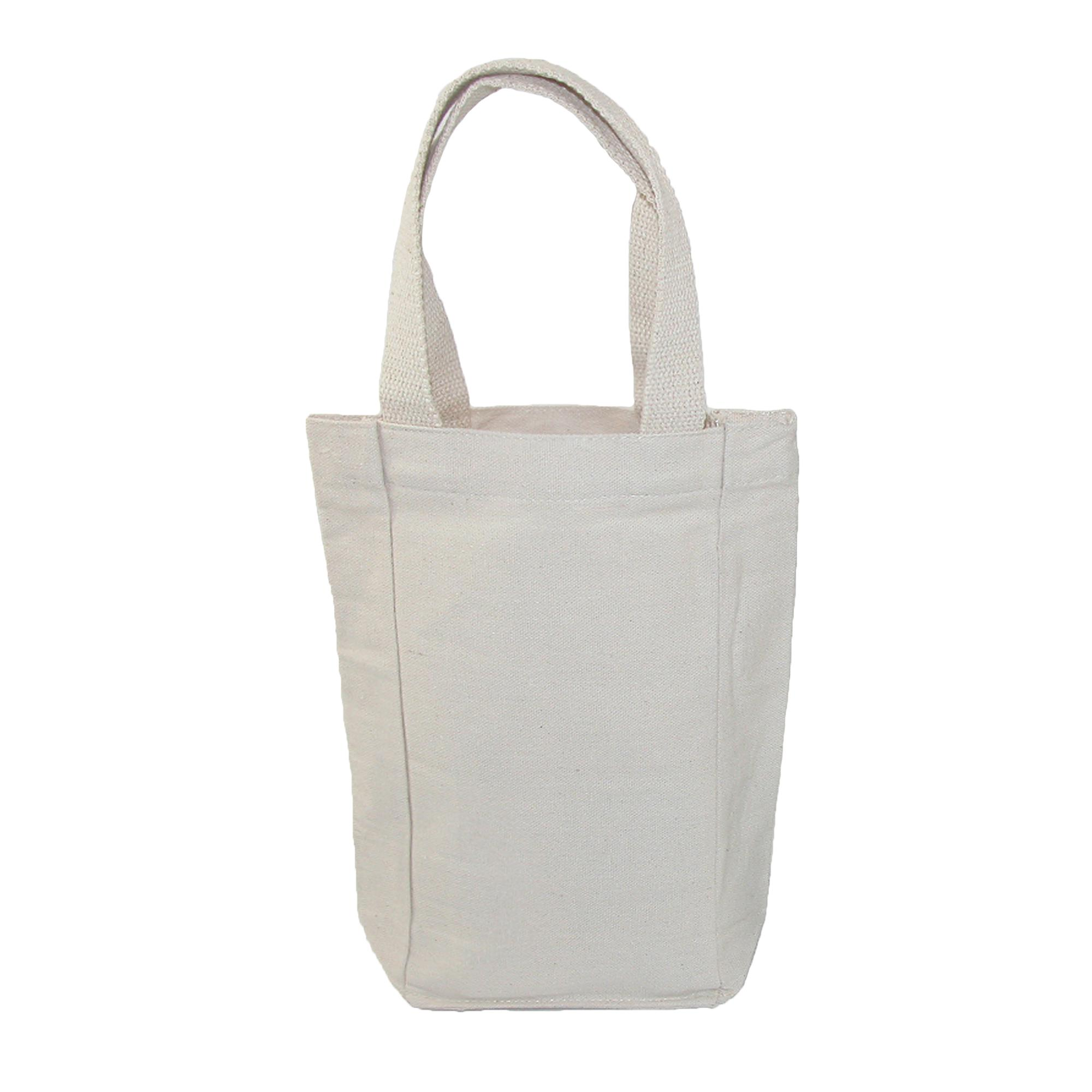 Liberty Bags Canvas Double Bottle Wine Tote