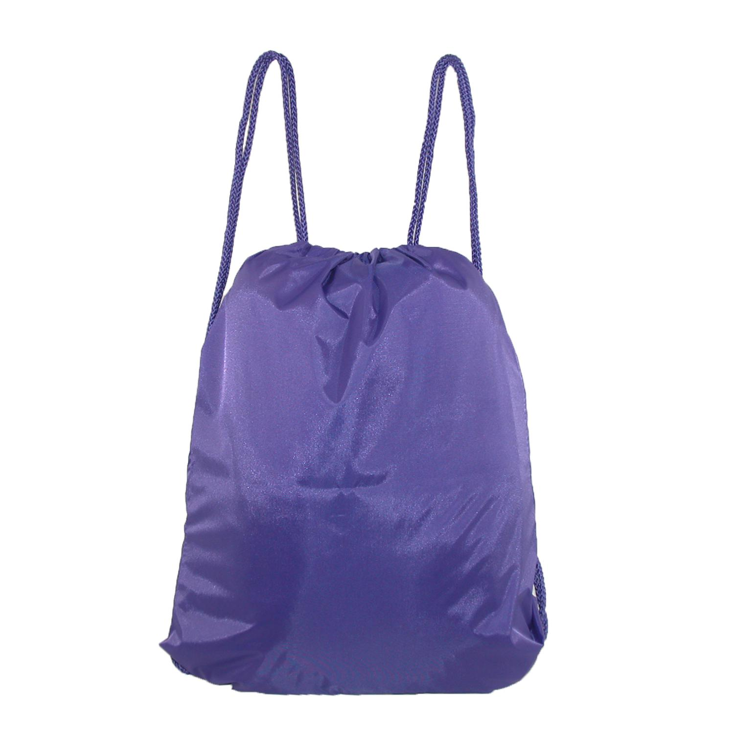 Ctm Large Drawstring Backpack Book Bag Carry All