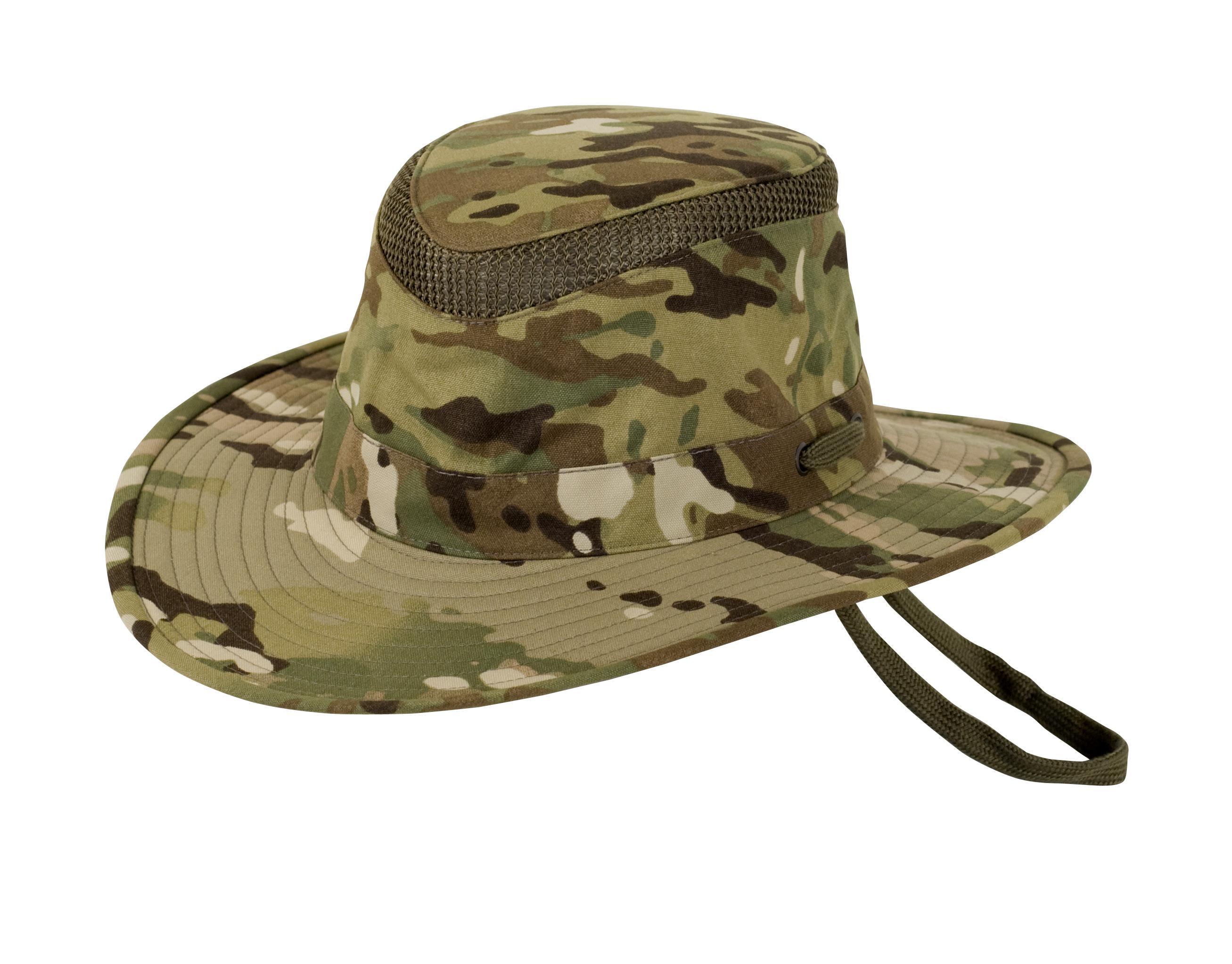 Tilley LTM6 Supplex Nylon Camo Water Repellent Safari Hat