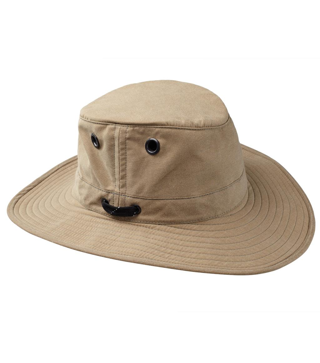Tilley LWC55 100% Waxed Cotton UPF Protection Outback Hat