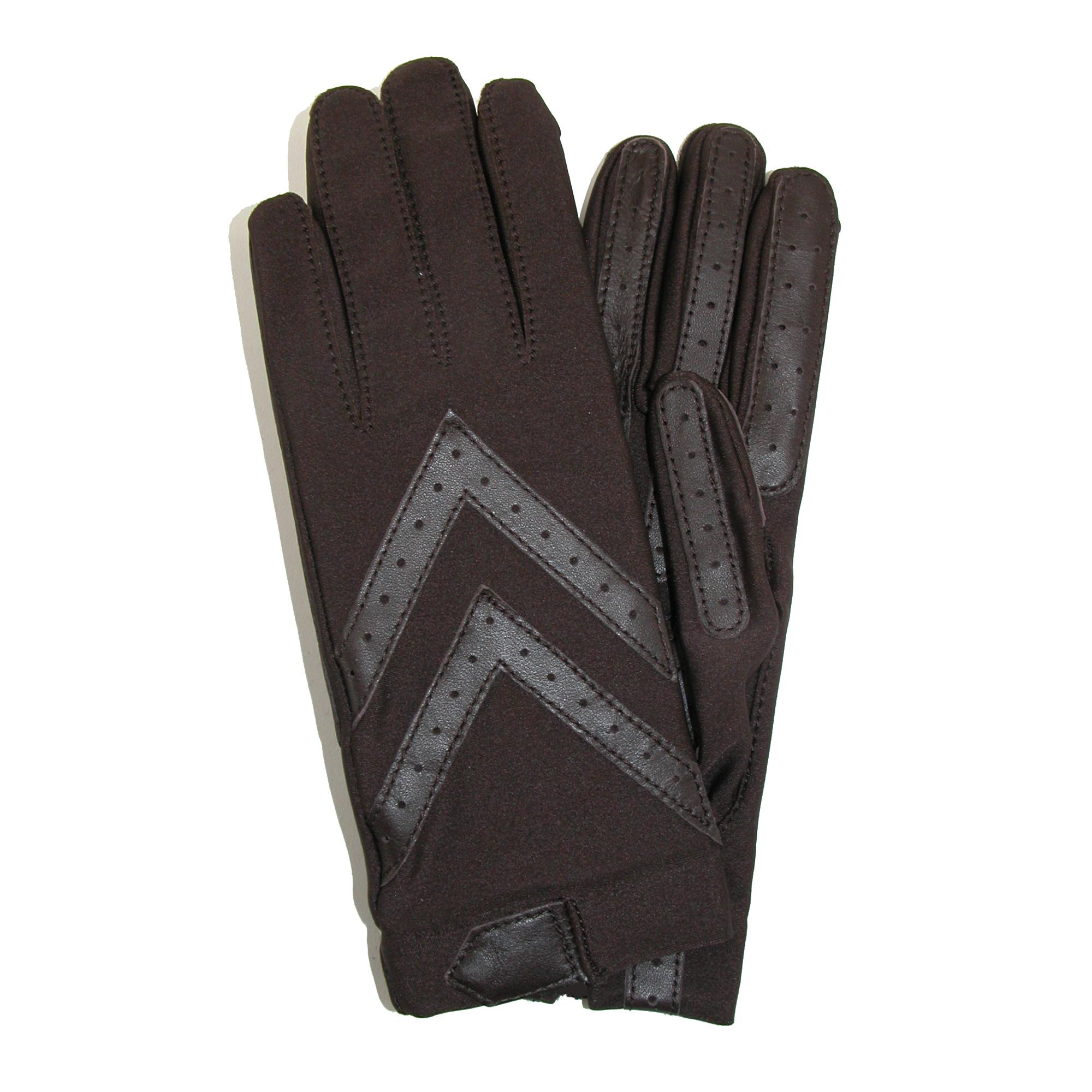 Isotoner Womens Unlined Leather Palm Driving Gloves (pack Of 2)