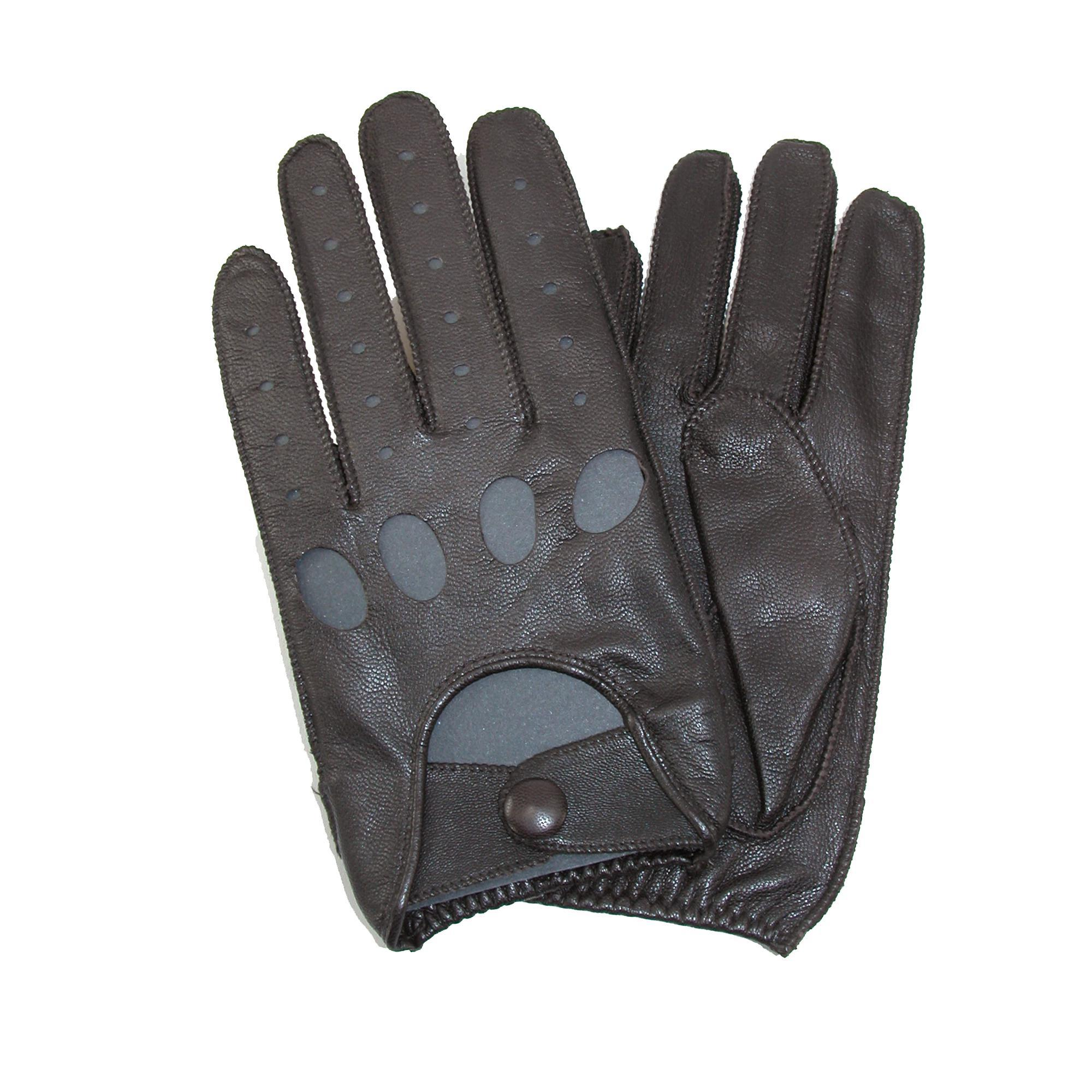 Leather driving gloves on ebay - New Isotoner Men 039 S Classic Leather Unlined