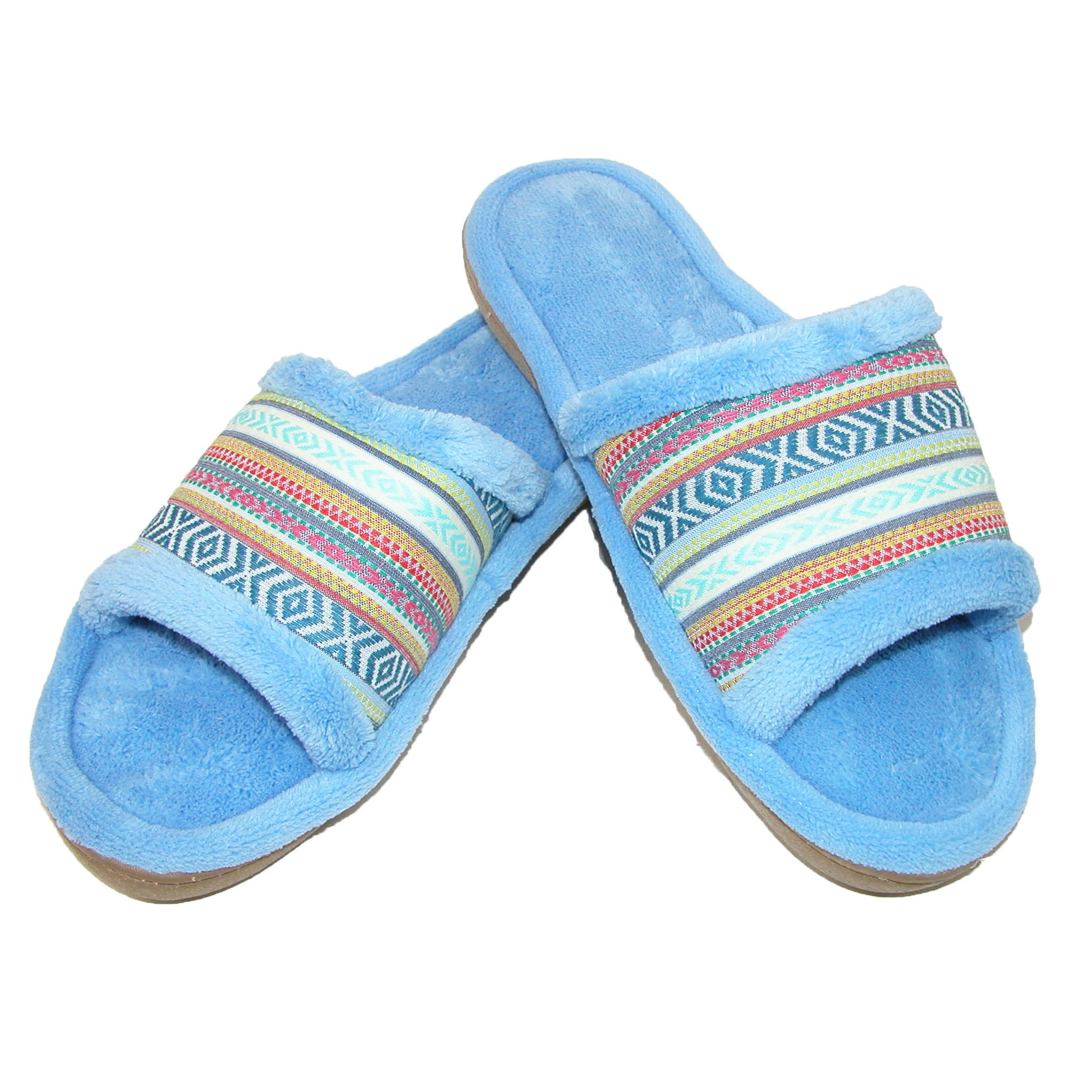 New Isotoner Women's Microterry Mallory Striped Slide ...