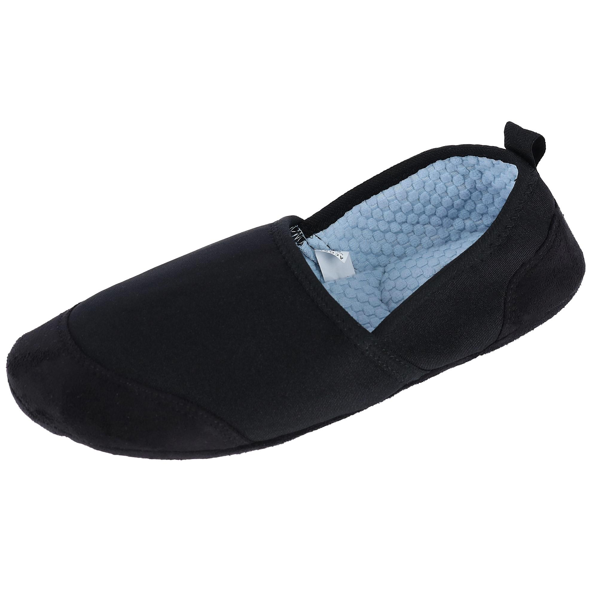 Acorn Mens Pack And Go Tech Travel Slippers