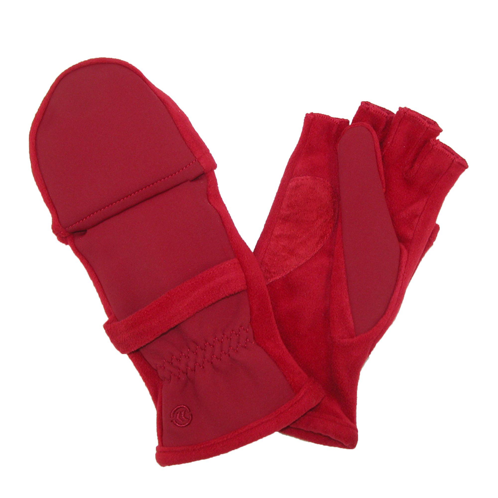 Fingerless gloves isotoner - New Isotoner Women 039 S Fleece Stretch Convertible