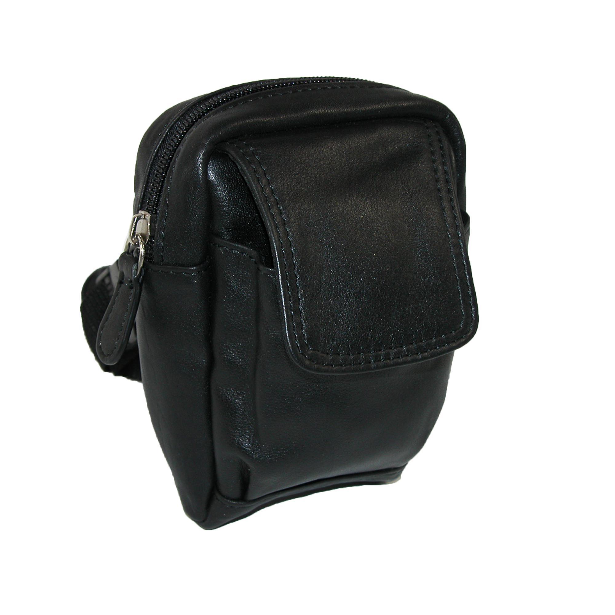 Winn International Leather Mini Belt Bag