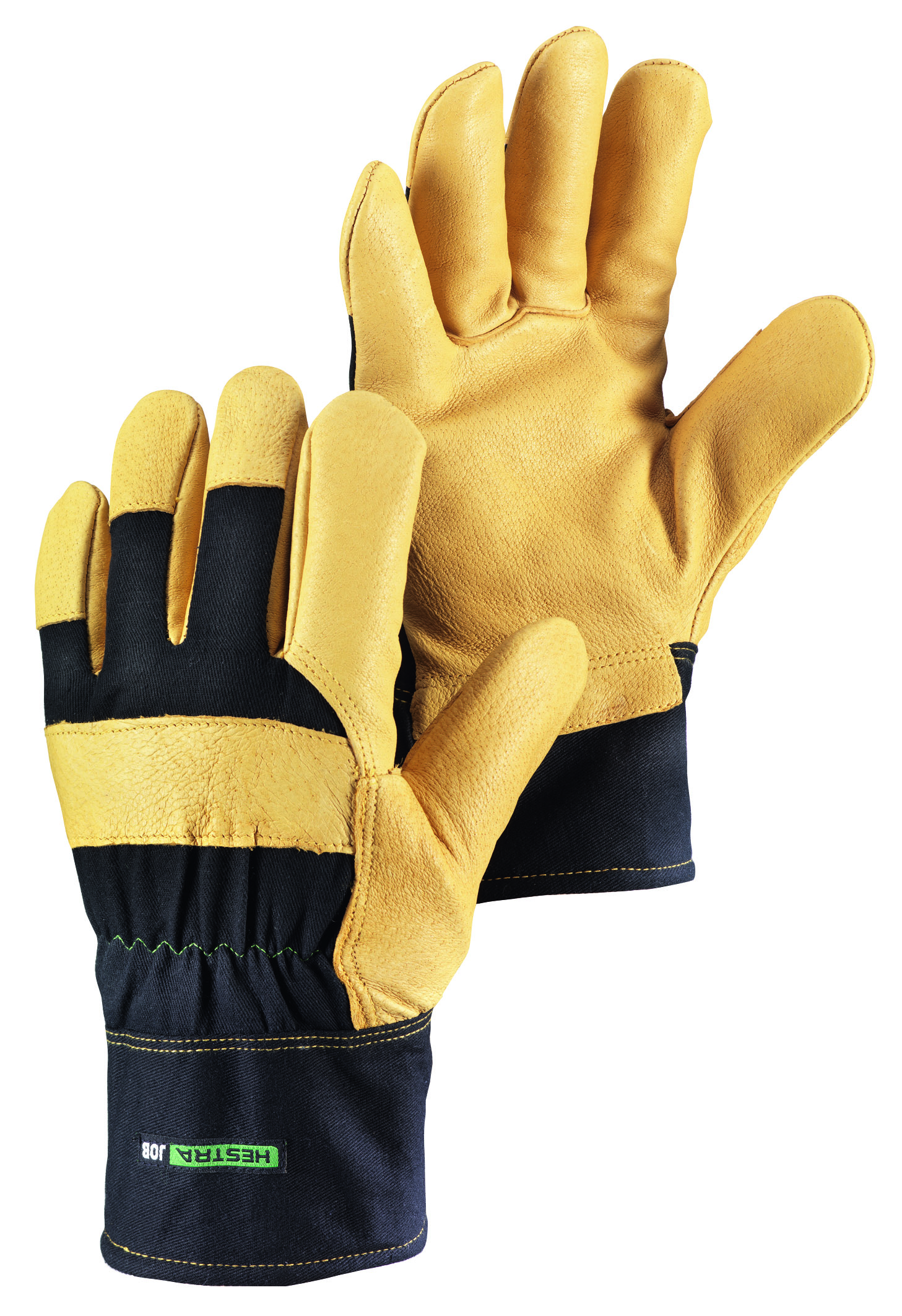 Leather work gloves ebay - Image Is Loading Tantel Insulated Pigskin Leather Work Gloves Tan Black