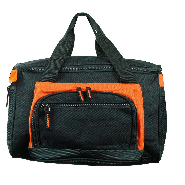 Insulated Lunch Bag Cooler Multiple Pockets Shoulder Strap