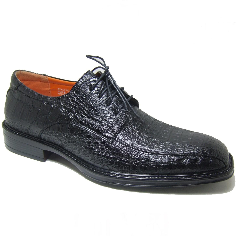ferro aldo s alligator oxfords dress shoes lace up
