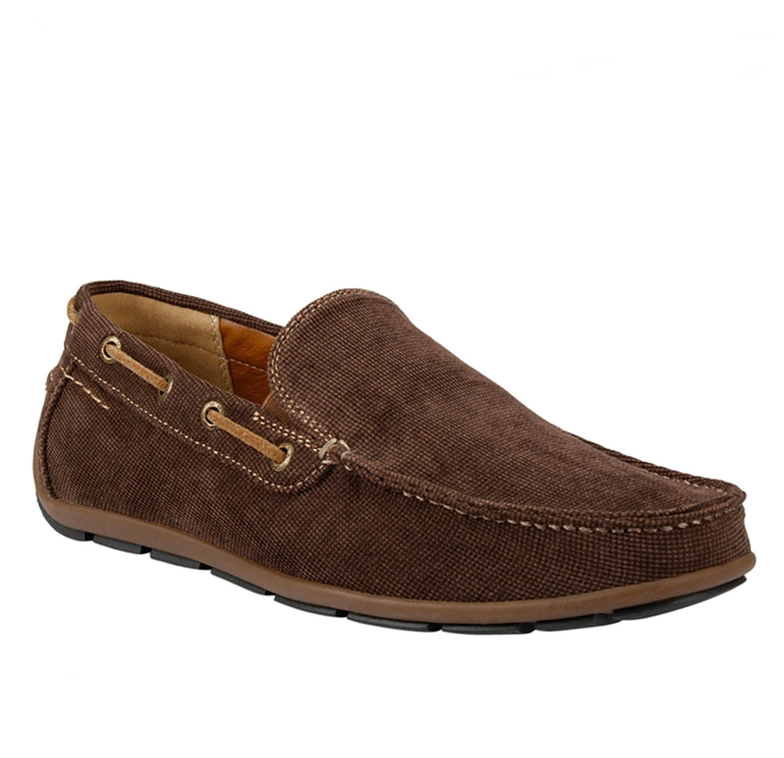 gbx mens casual loafers slip on moc toe tapered moccasin