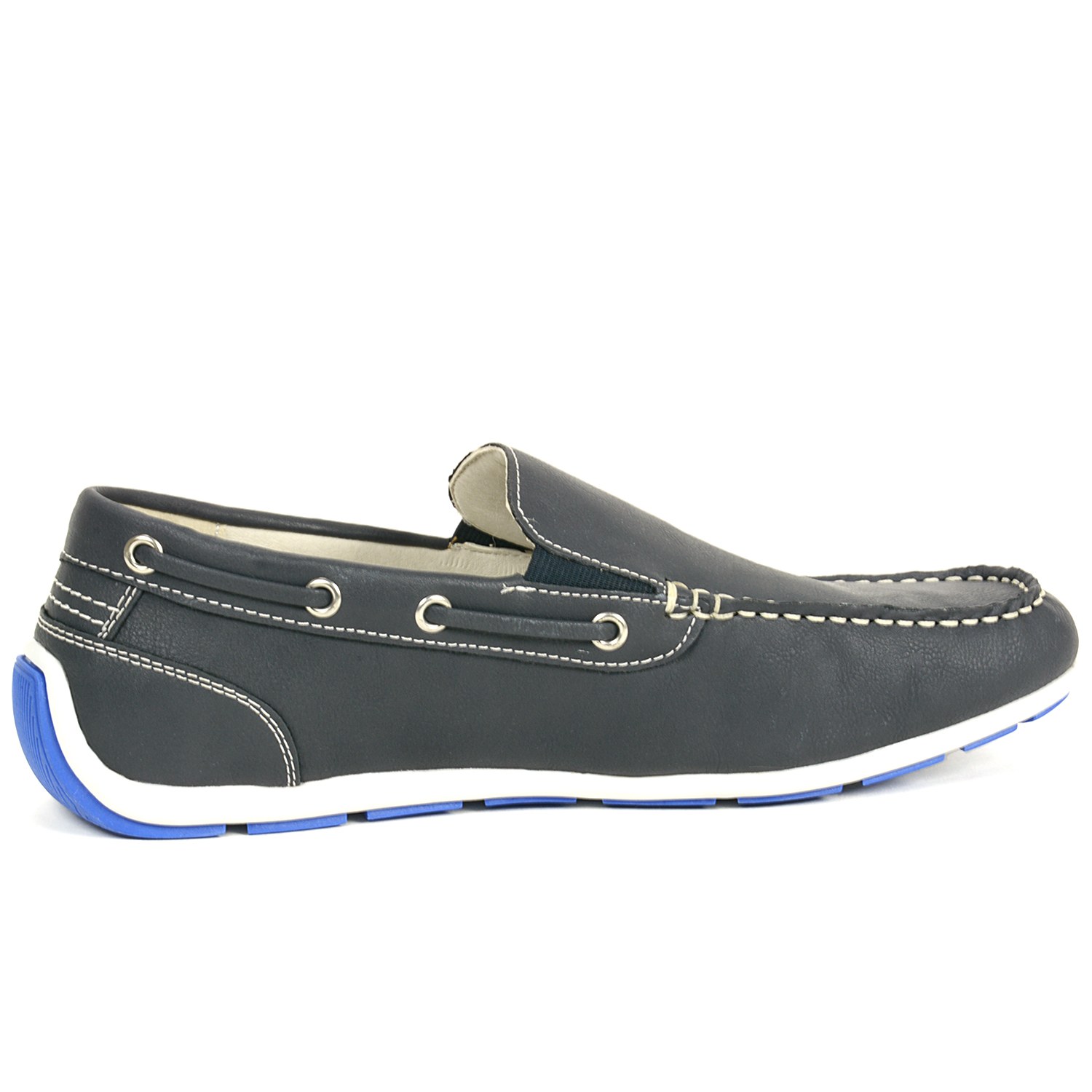 gbx mens casual loafers slip on moc toe boat