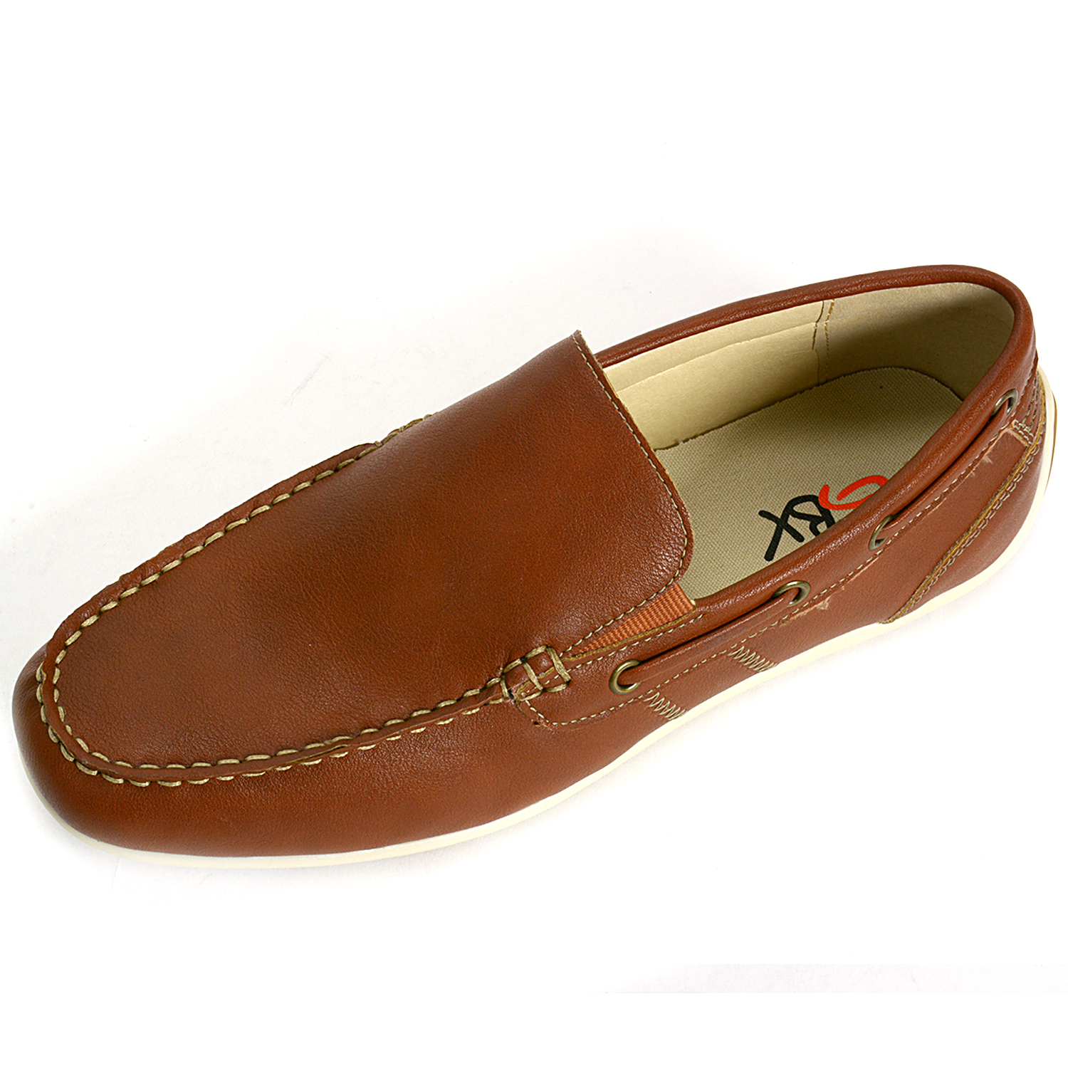 gbx mens casual loafers slip on toe boat shoes