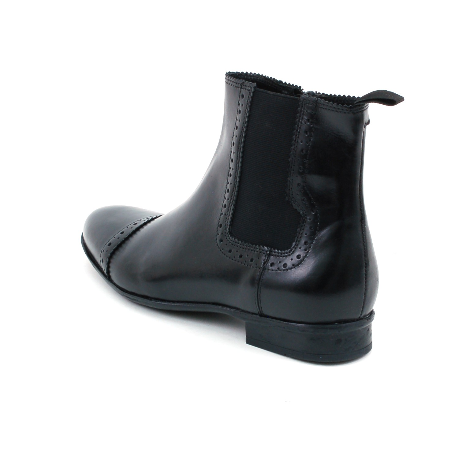 mens chelsea boots dressy ankle stretch side zipper