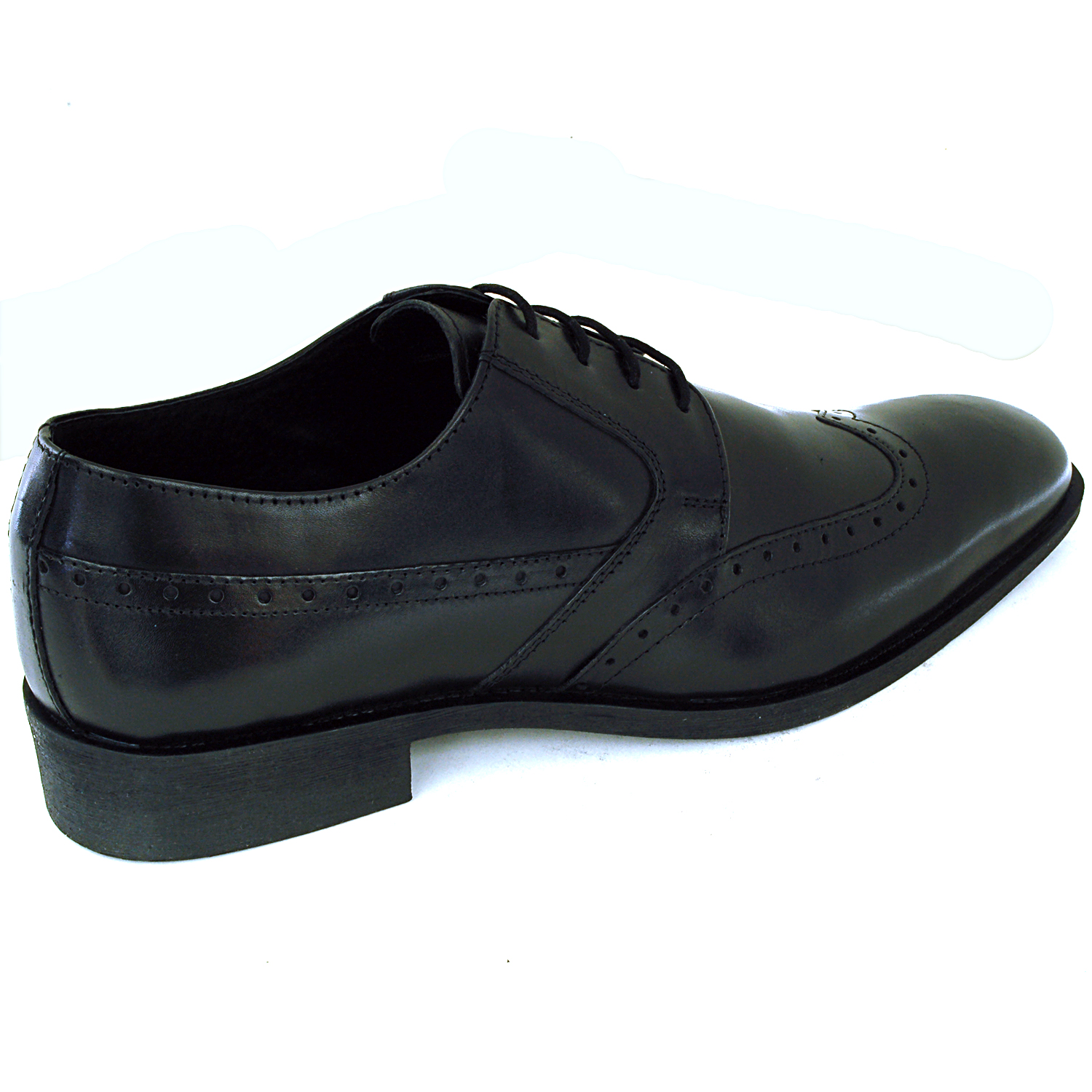Mens Wing Tip Oxfords Lace Up Leather Comfort Brogue ...