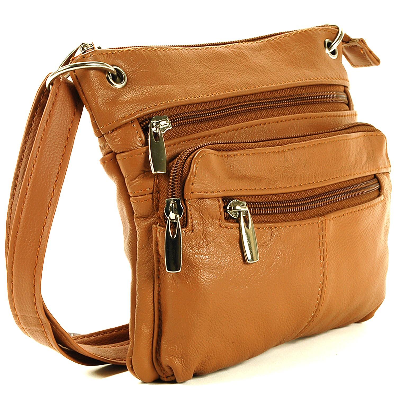 Women's Purse Cross Body Shoulder Bag Leather Handbag ...