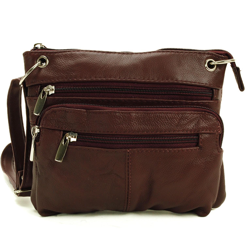 women 39 s purse cross body shoulder bag leather handbag organizer messenger tote ebay. Black Bedroom Furniture Sets. Home Design Ideas
