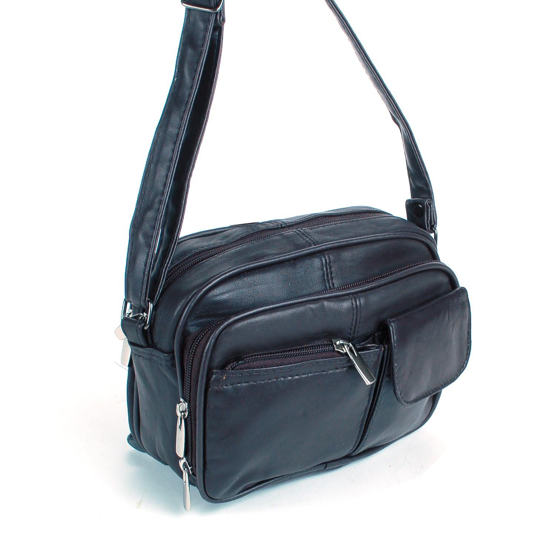 Womens leather organizer purse shoulder bag handbag cross - Organizer purses and handbags ...
