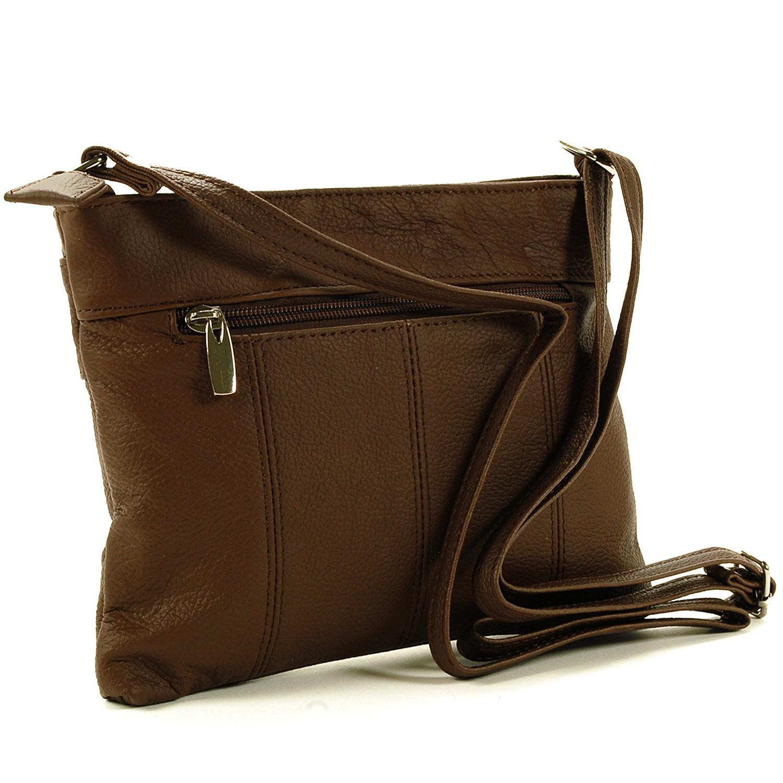 Women's Genuine Leather Handbag Cross Body Bag Shoulder ...