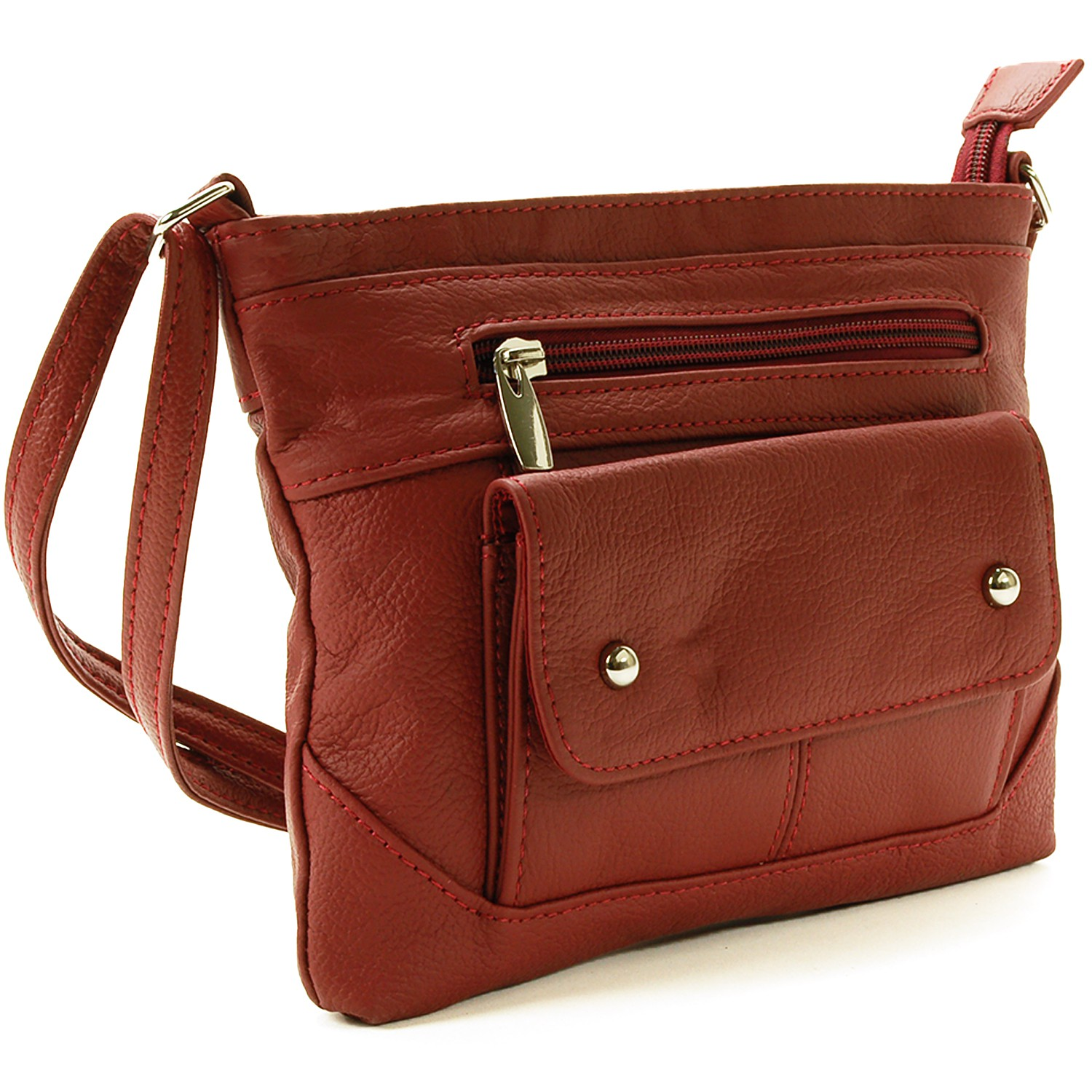 The shoulder bags are made from a variety of high-quality materials, including leather, velvet, and suede, so they'll look good now and in years to come. These shoulder bags are also practical, with a range of organizational features including zip and pouch pockets for your smartphone, loose change, and other small items.
