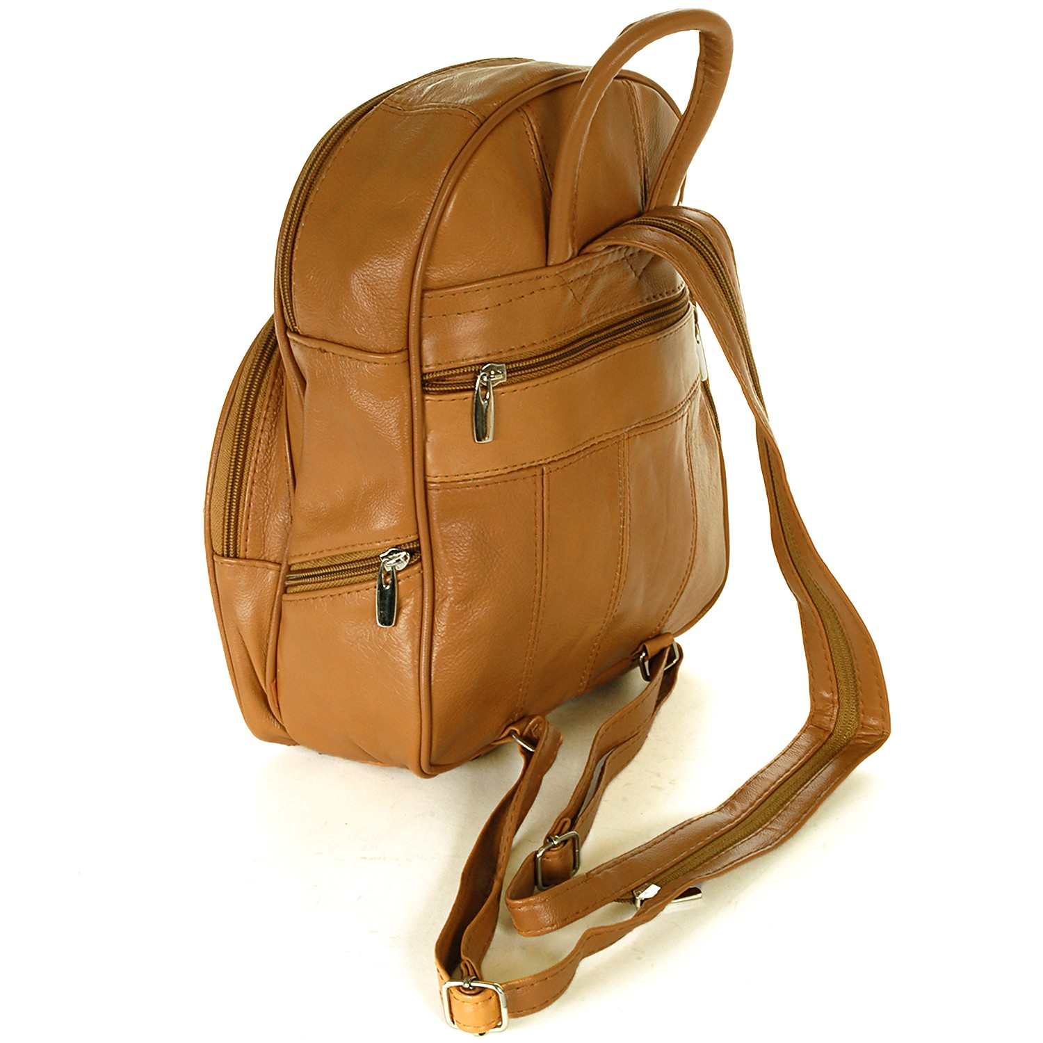 Details about New Leather Backpack Purse Sling Bag Back Pack Shoulder ...