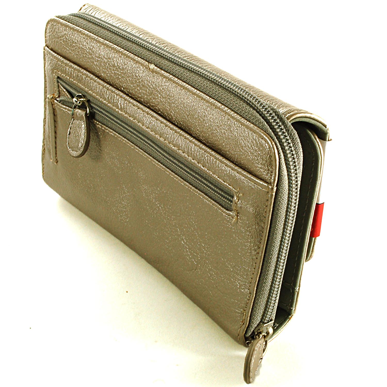 Womens Mundi Big Fat Wallet Checkbook Case Large Organizer Clutch Bag Pocketbook Ebay